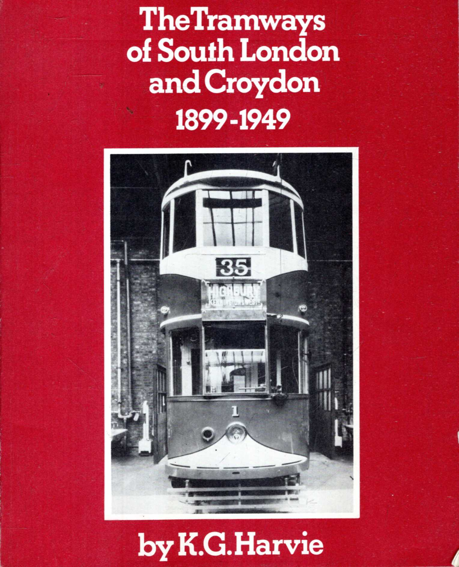 Image for Tramways of South London and Croydon, 1899-1949