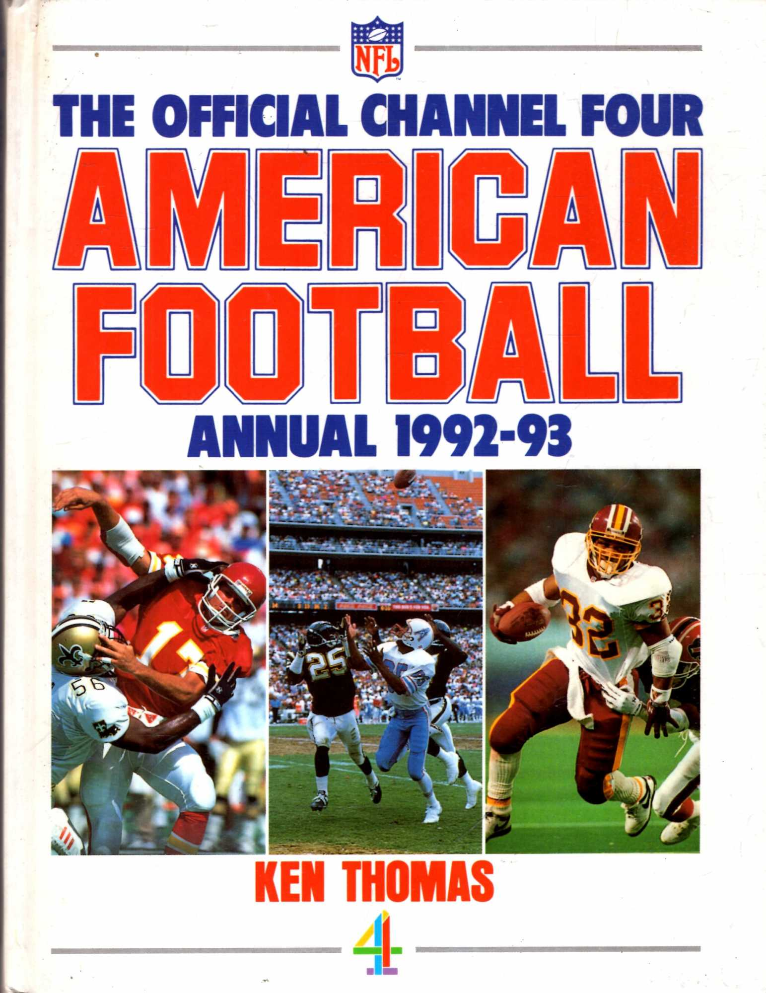 Image for The Official Channel Four American Football Annual 1992-93