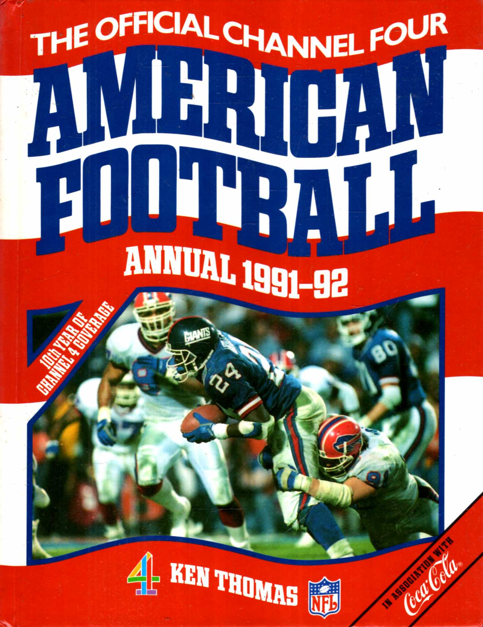 Image for The Official Channel Four American Football Annual 1991-92