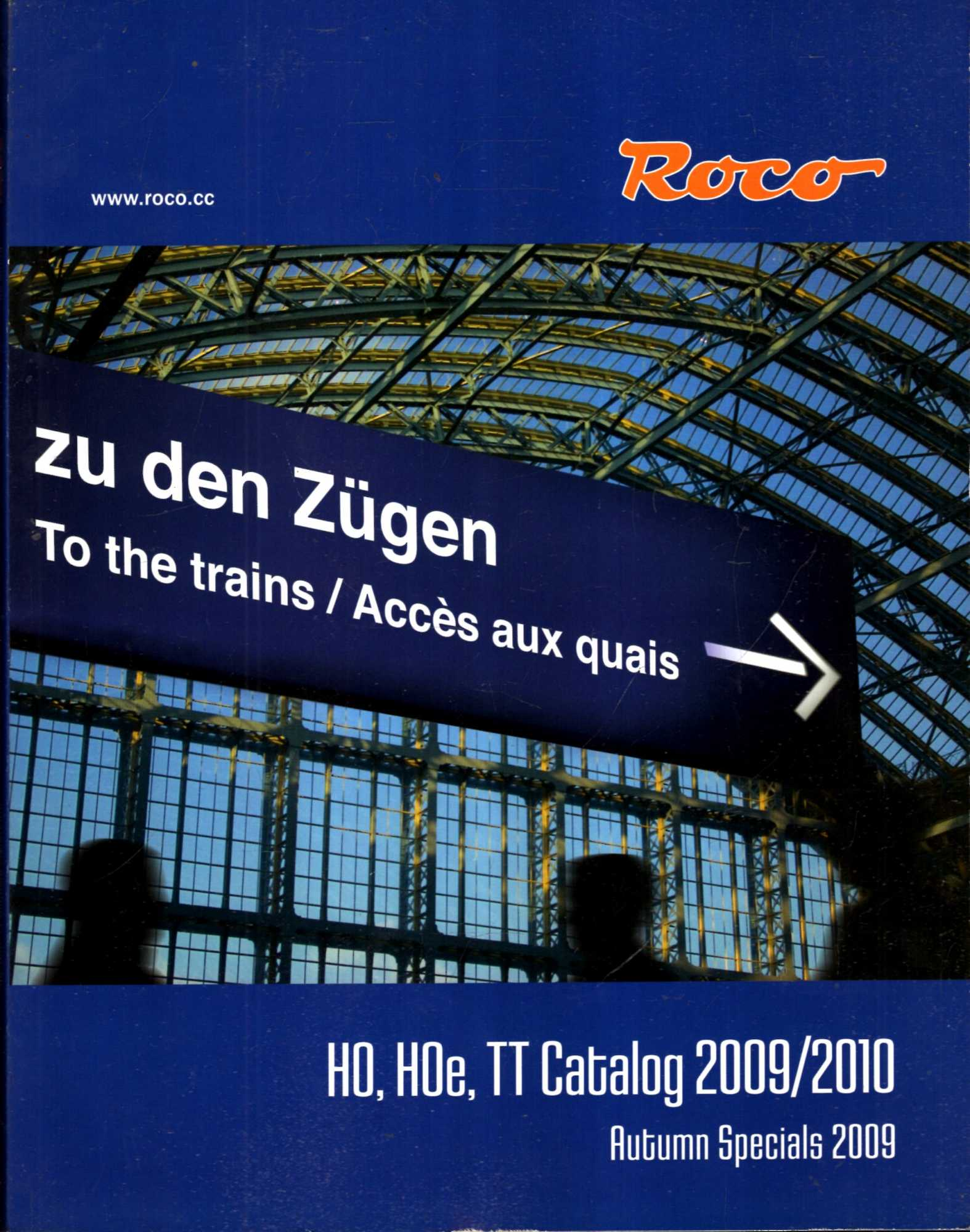 Image for Roco : H0 H0e, TT Catalog 2009/2010 : Autumn Specials 2009