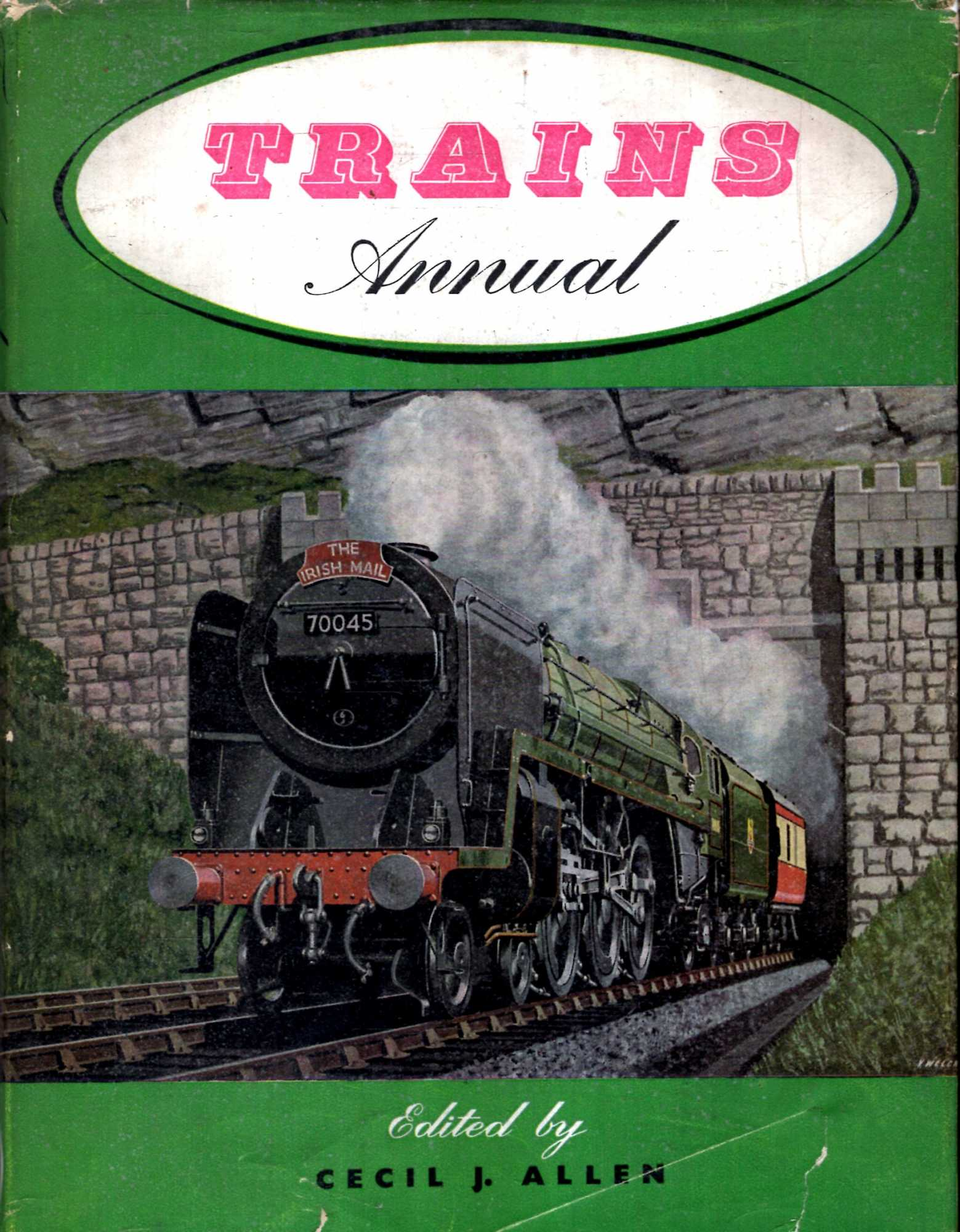 Image for Trains Annual 1957