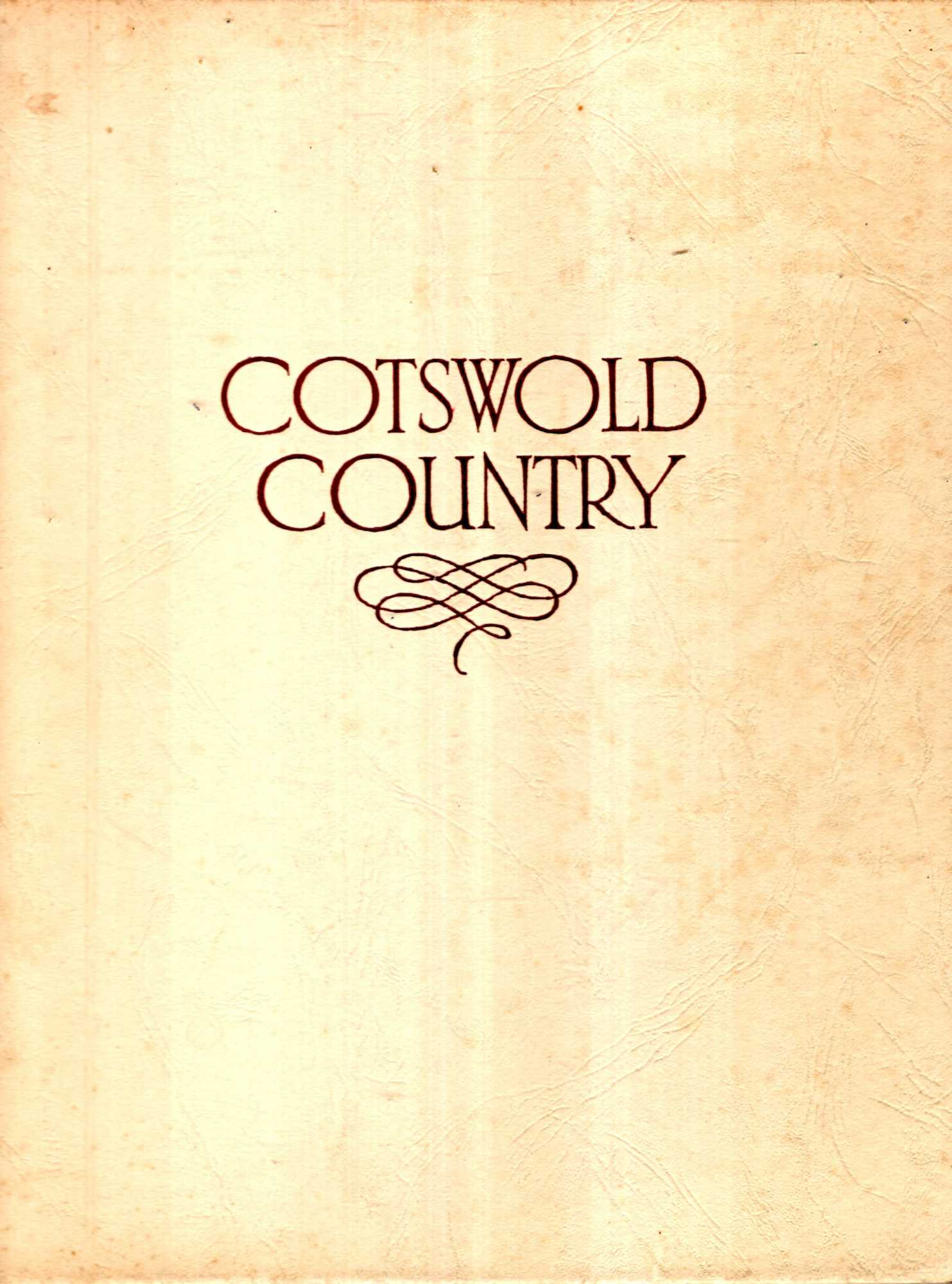 Image for Cotswold Country - a book of photographs