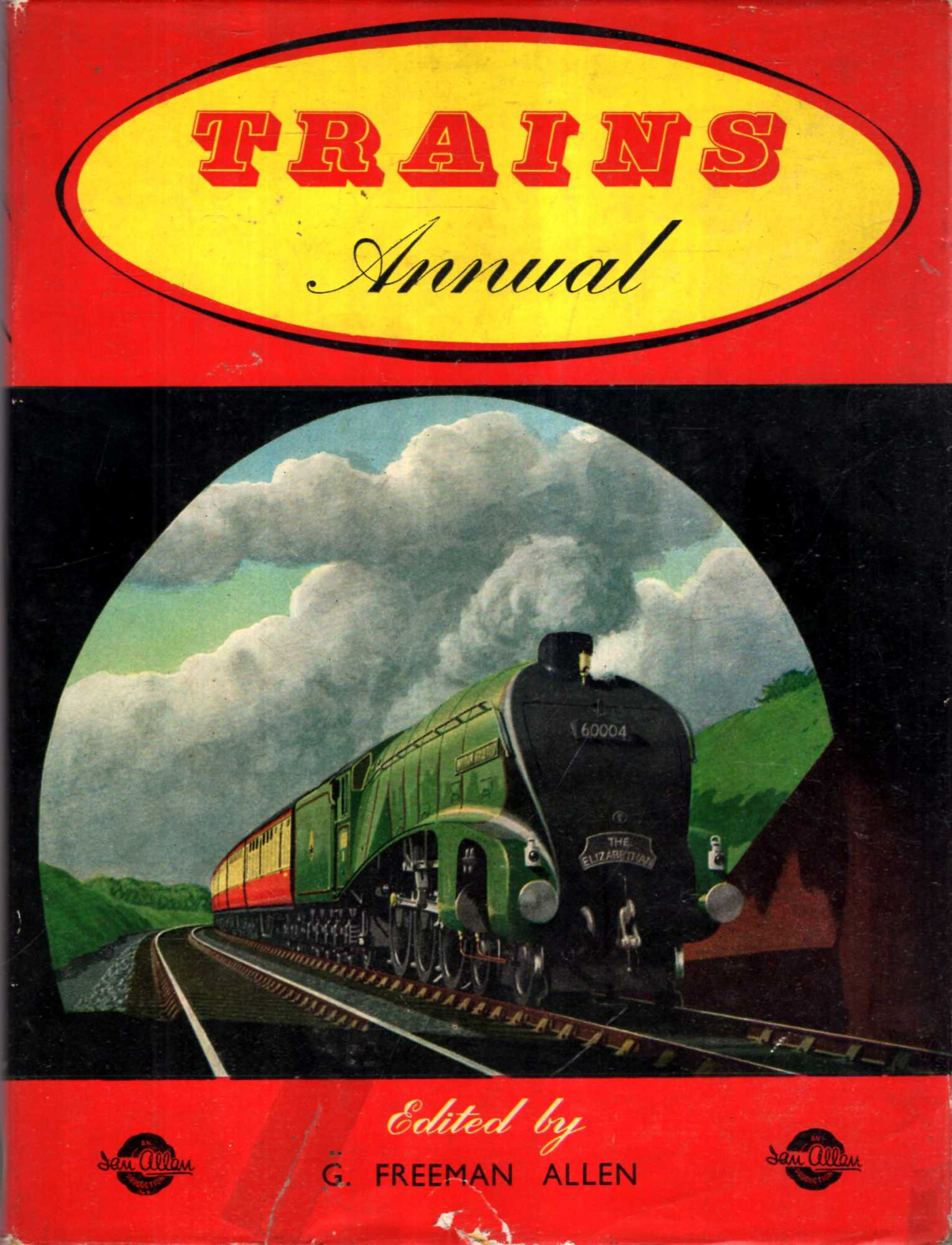 Image for Trains Annual 1958