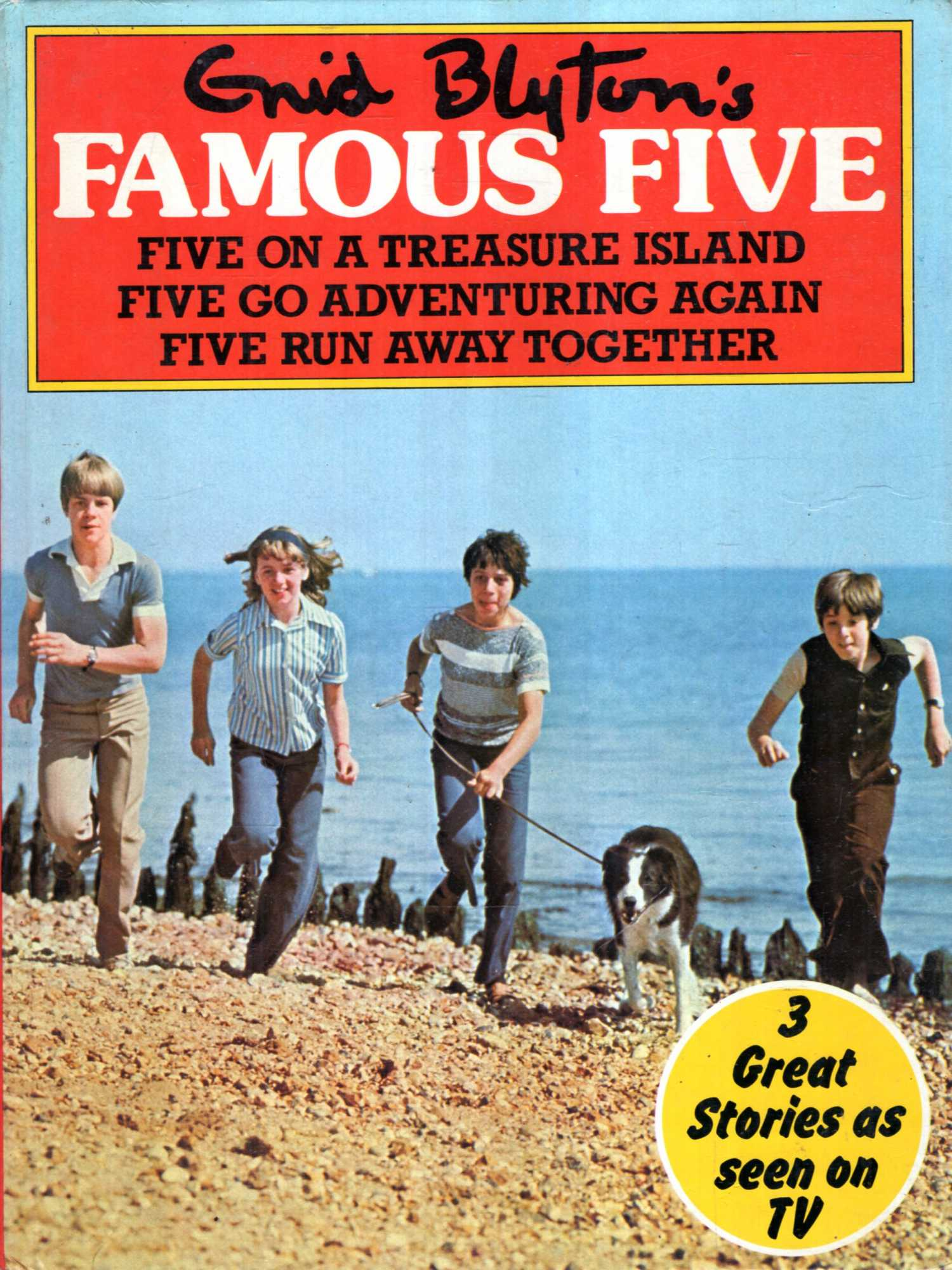 Image for Enid Blyton's Five on a Treasure Island : Five Go Adventuring Again : Five Run Away Together