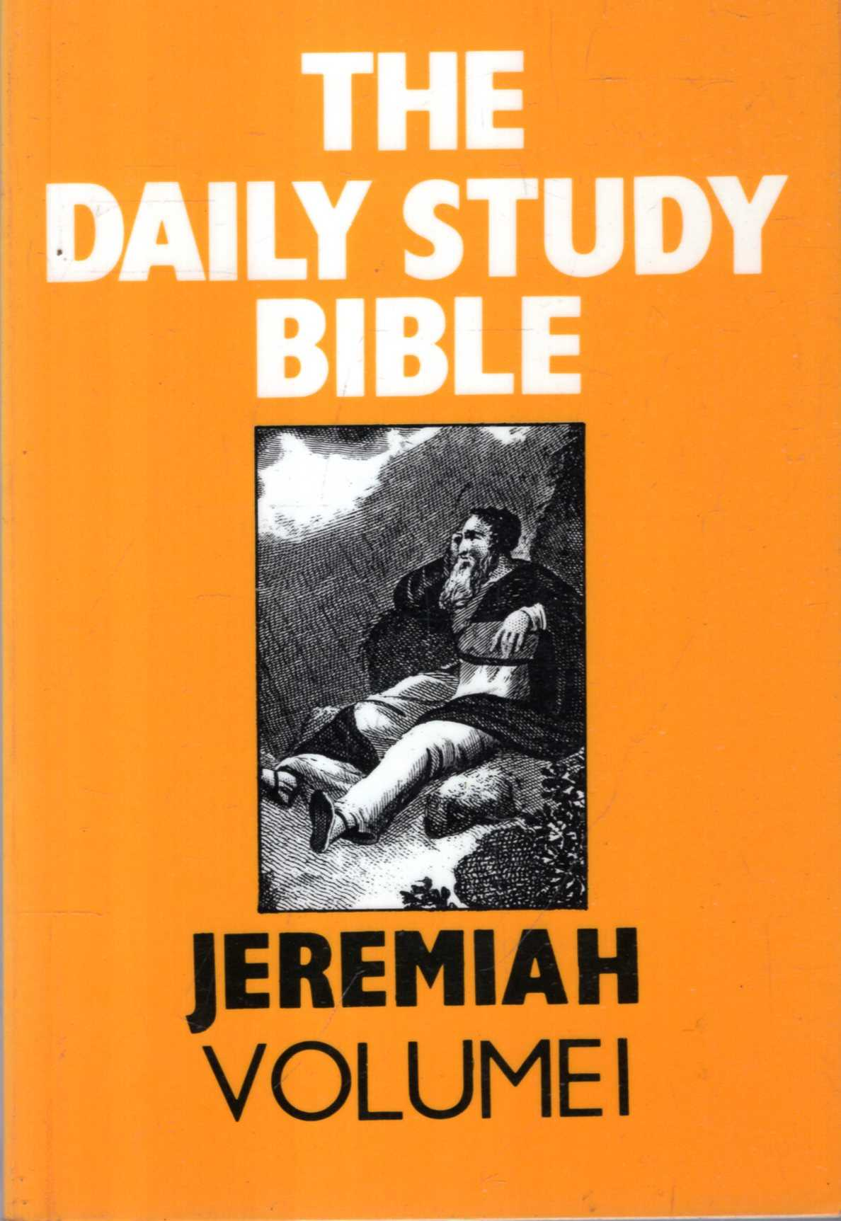 Image for Jeremiah: volume 1 (Daily Study Bible)
