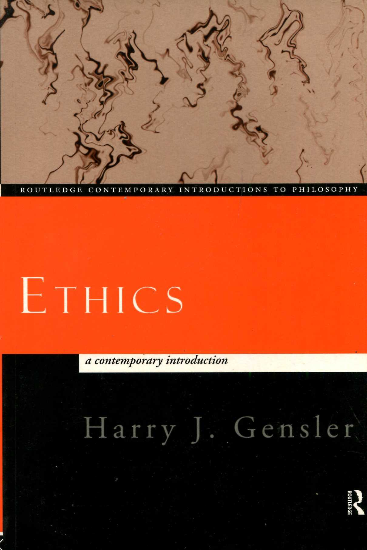 Image for Ethics: A Contemporary Introduction