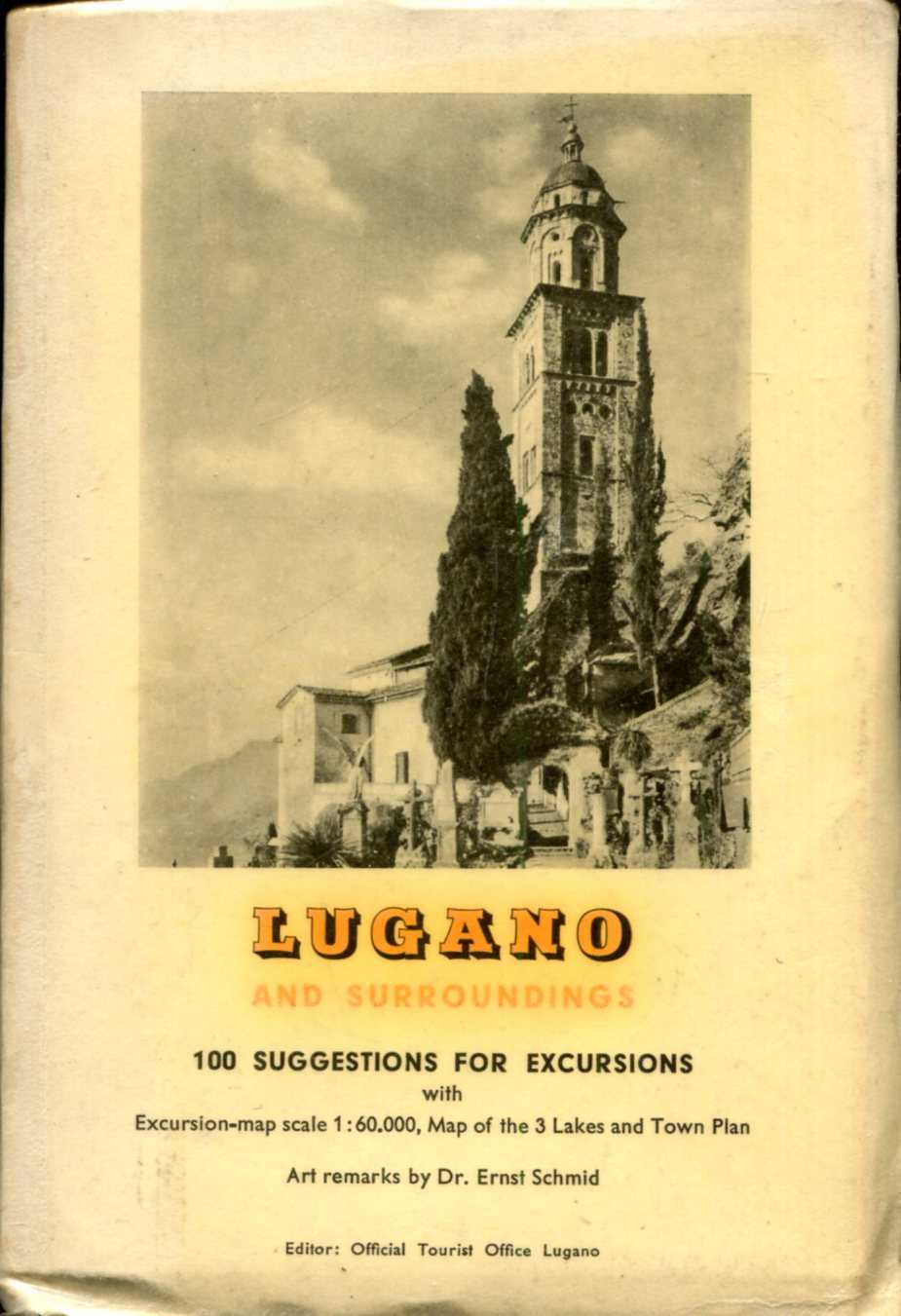 Image for 100 Suggestions for Excursions : Lugano and Surroundings