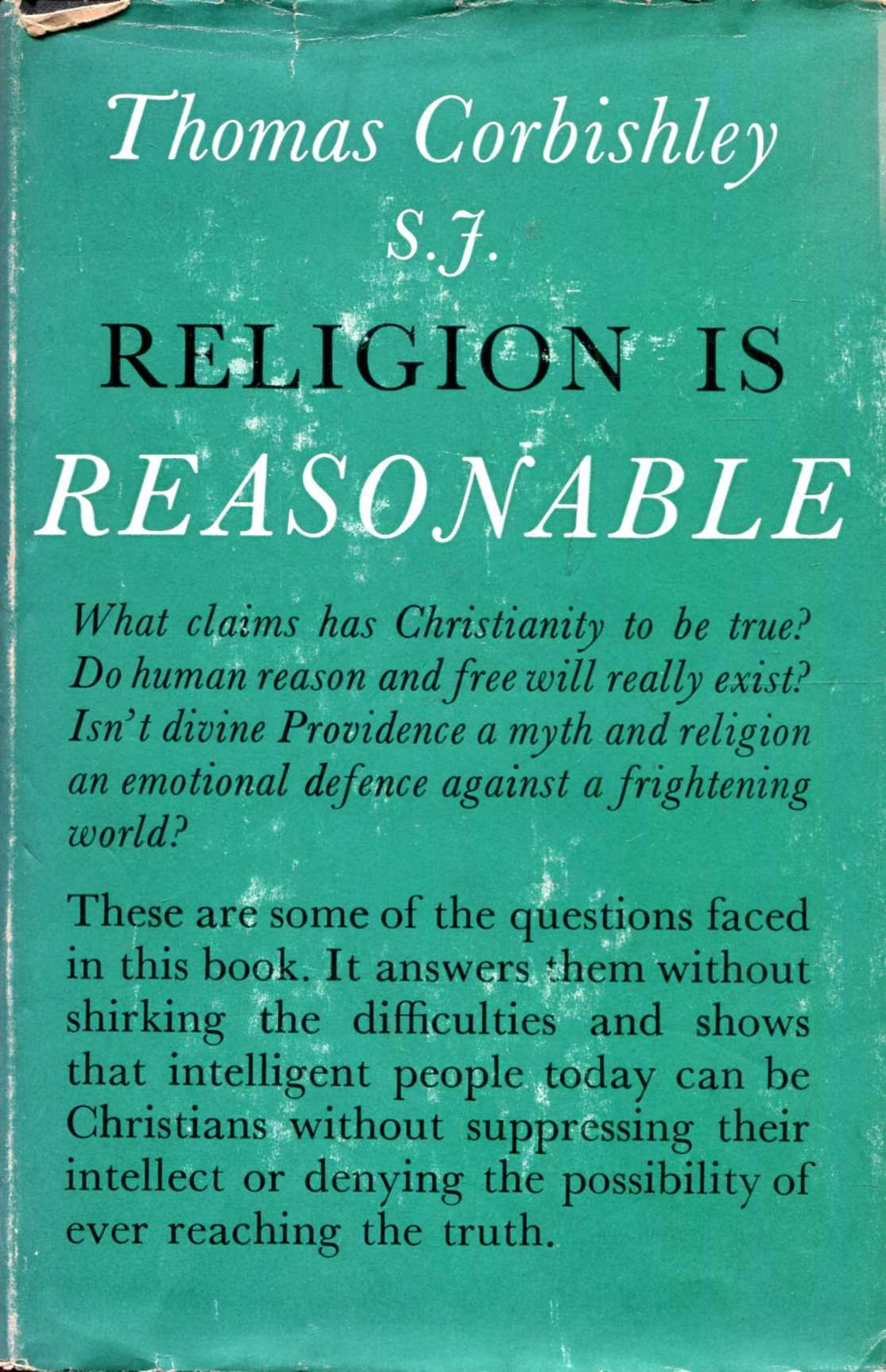 Image for Religion is Reasonable
