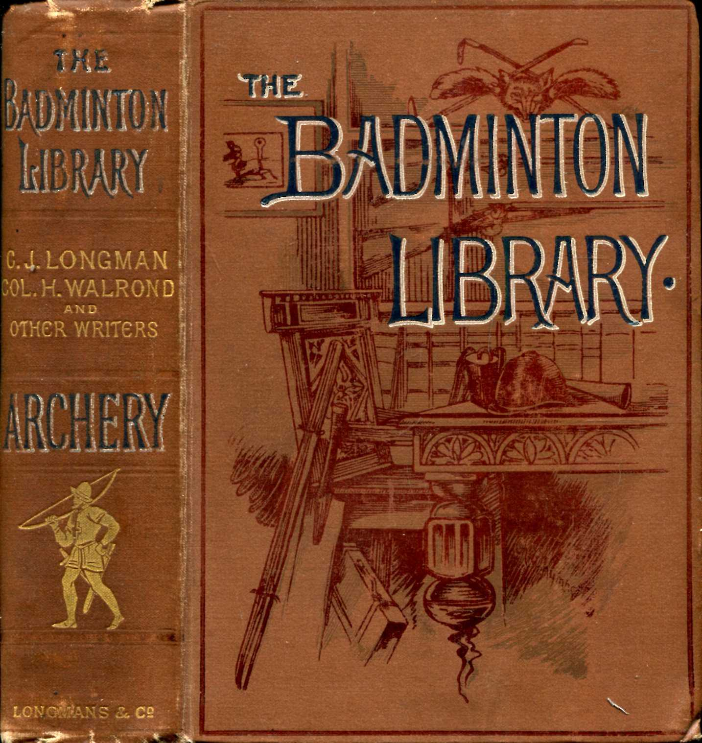 Image for The Badminton Library : Archery