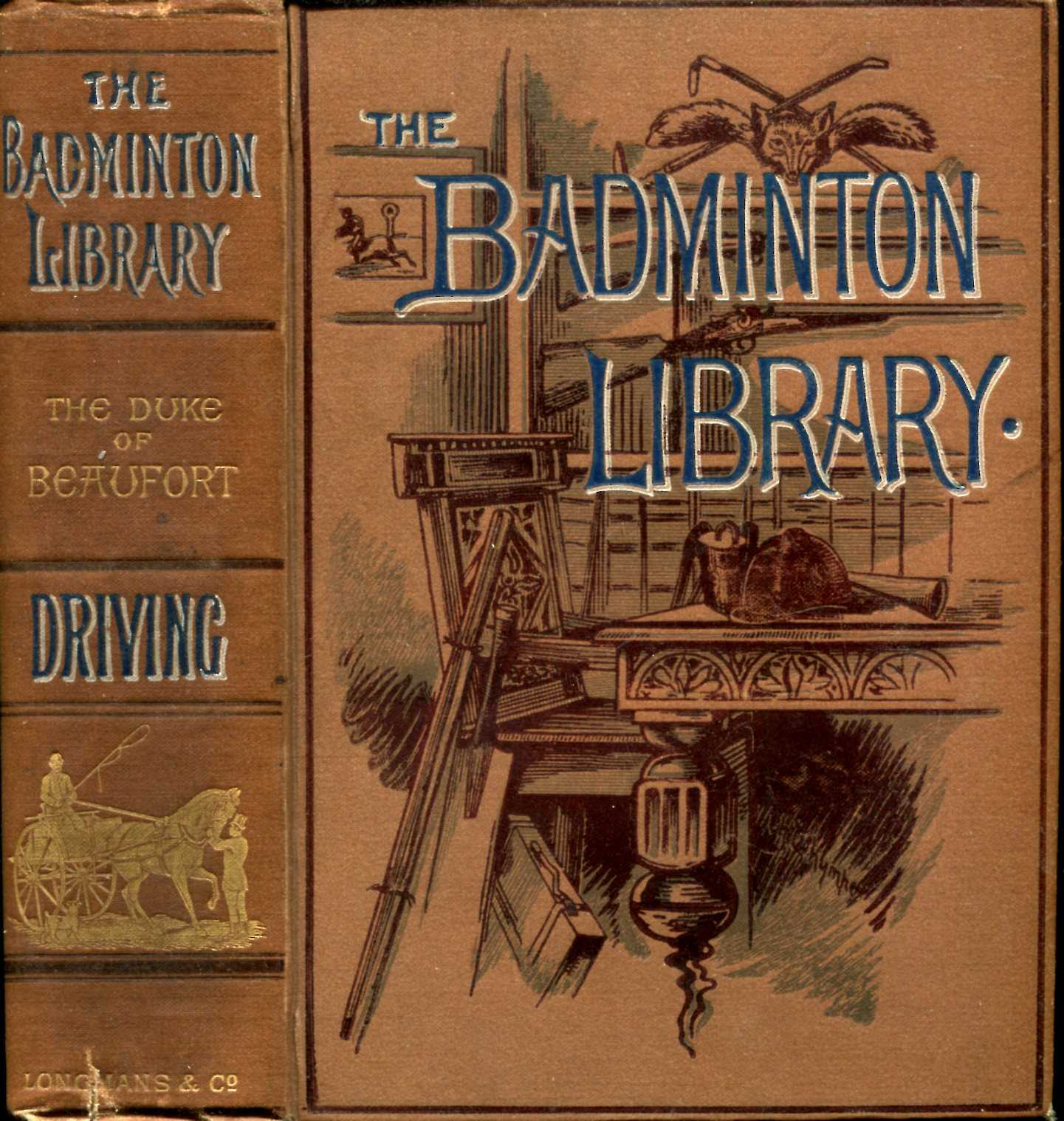 Image for The Badminton Library : Driving