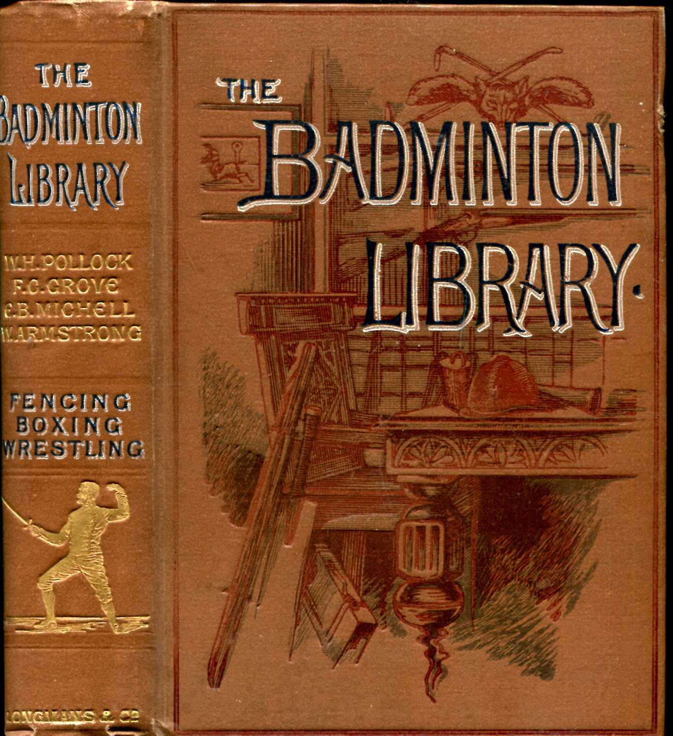 Image for The Badminton Library : Fencing : Boxing : Wrestling
