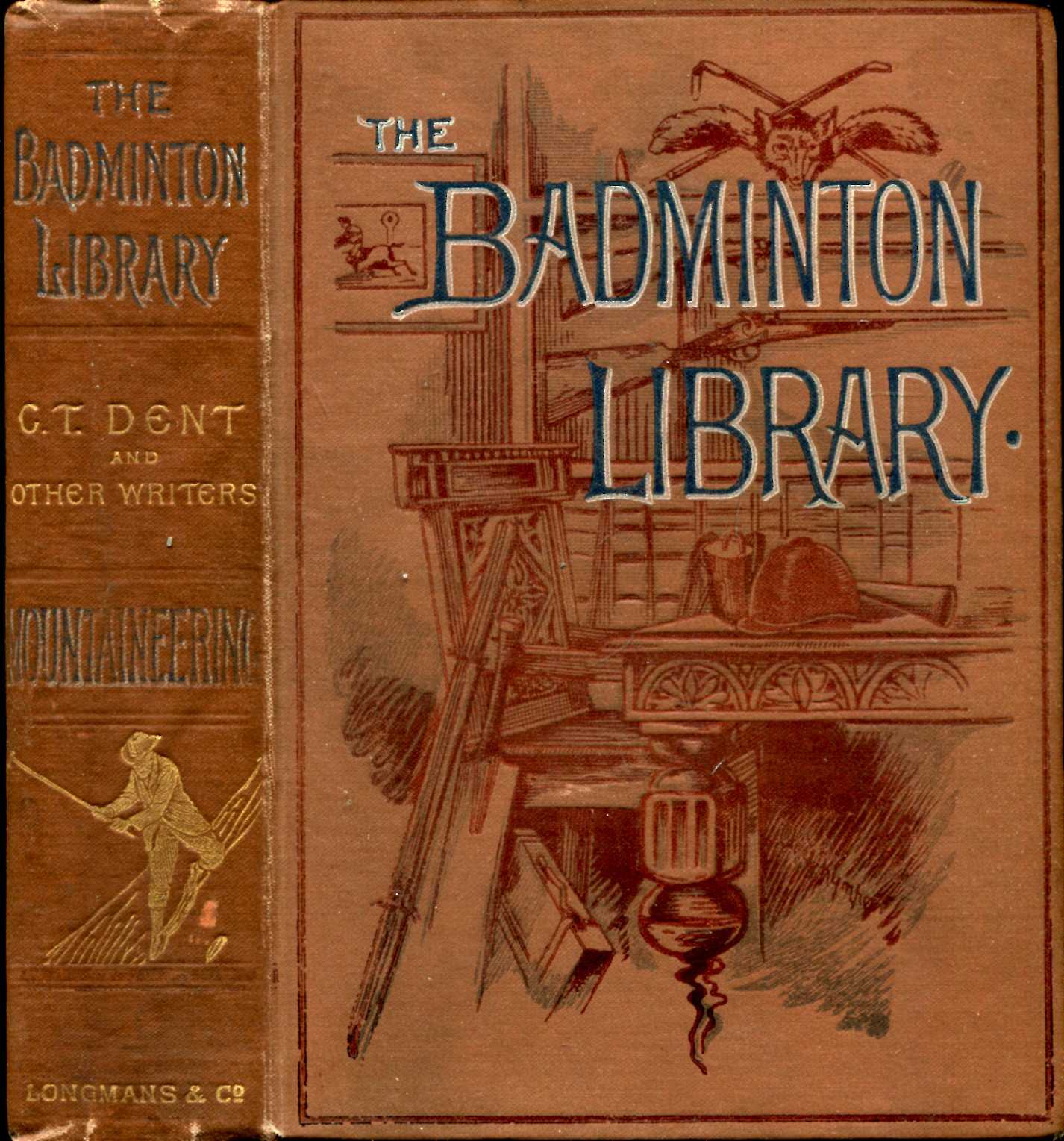 Image for The Badminton Library : Mountaineering