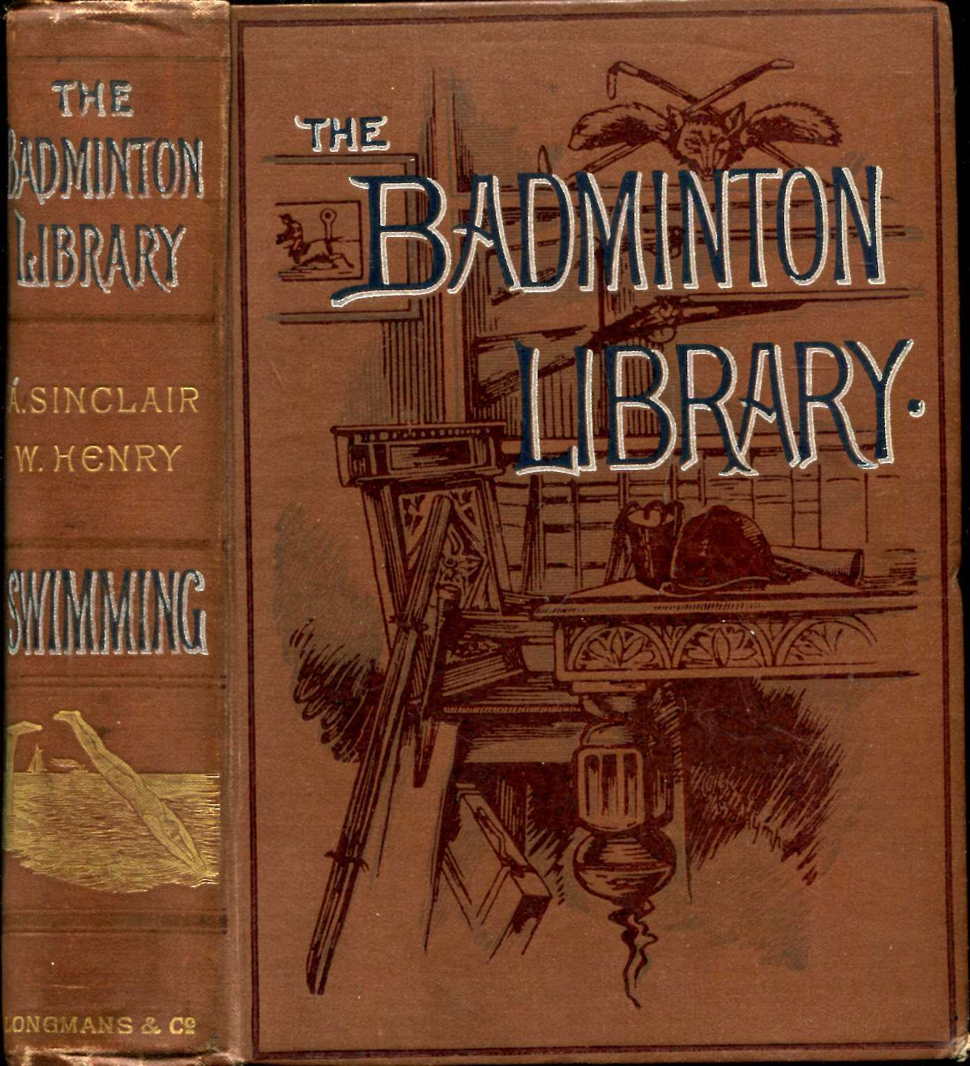 Image for The Badminton Library : Swimming
