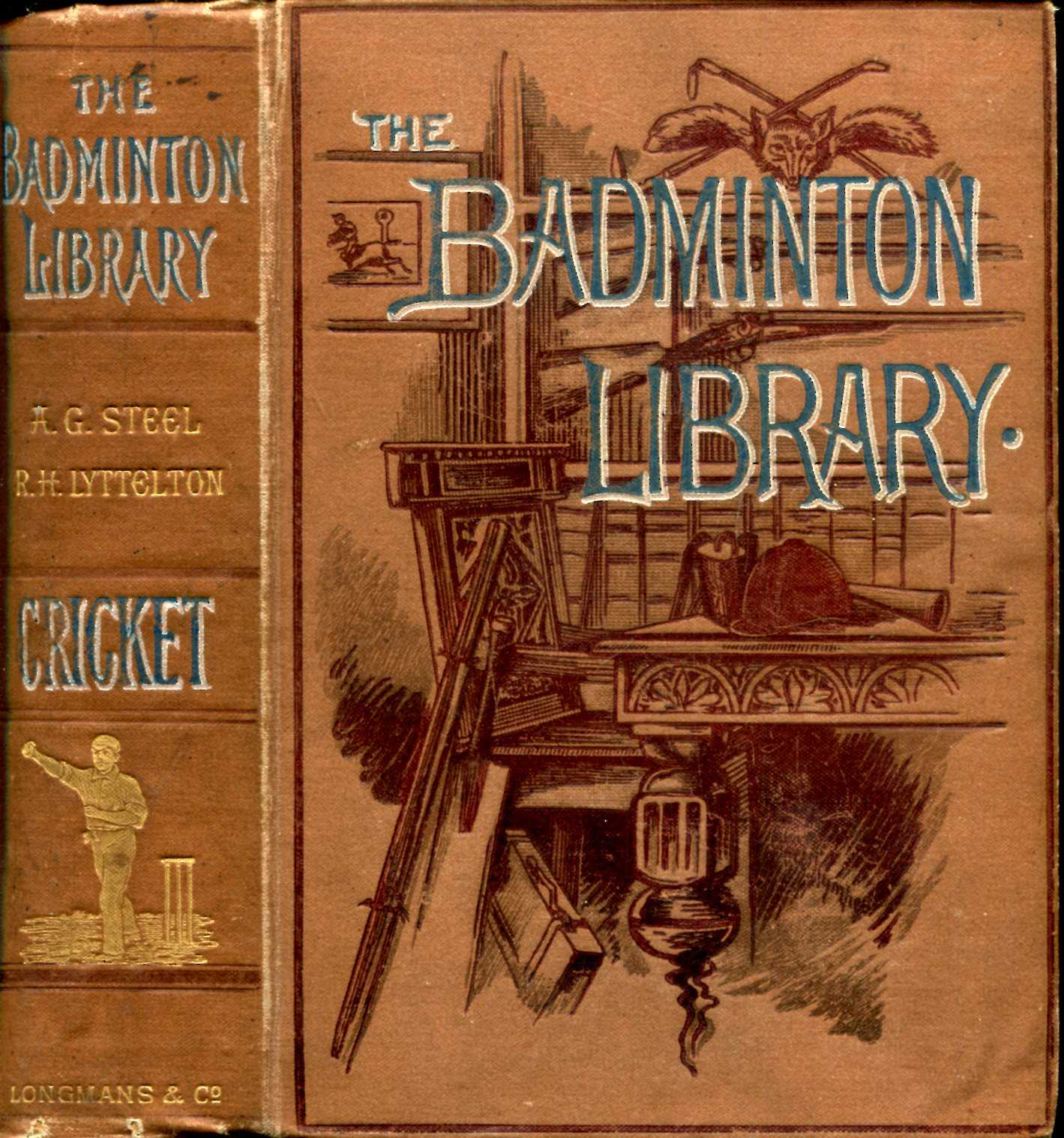 Image for The Badminton Library : Cricket