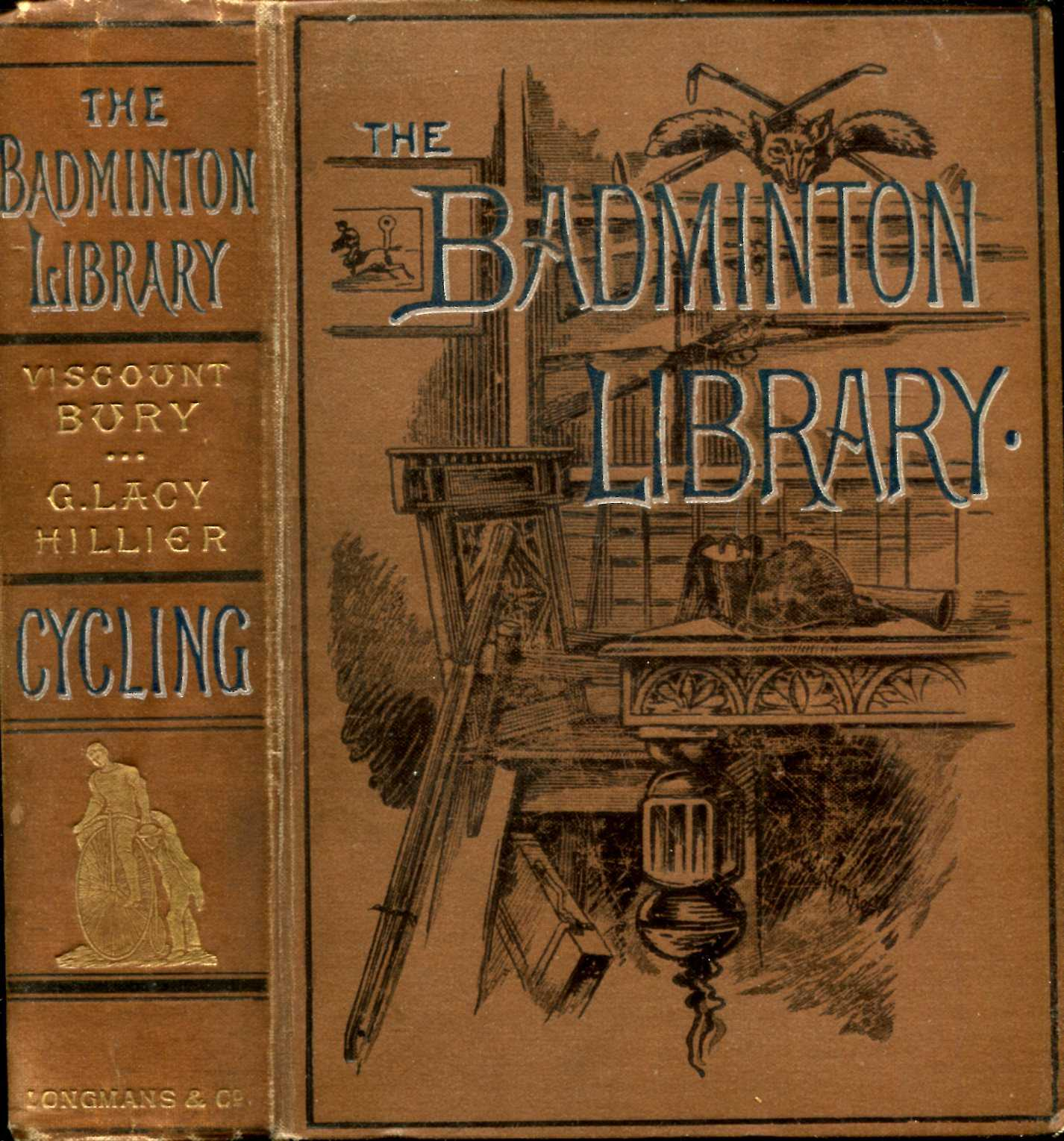Image for The Badminton Library : Cycling