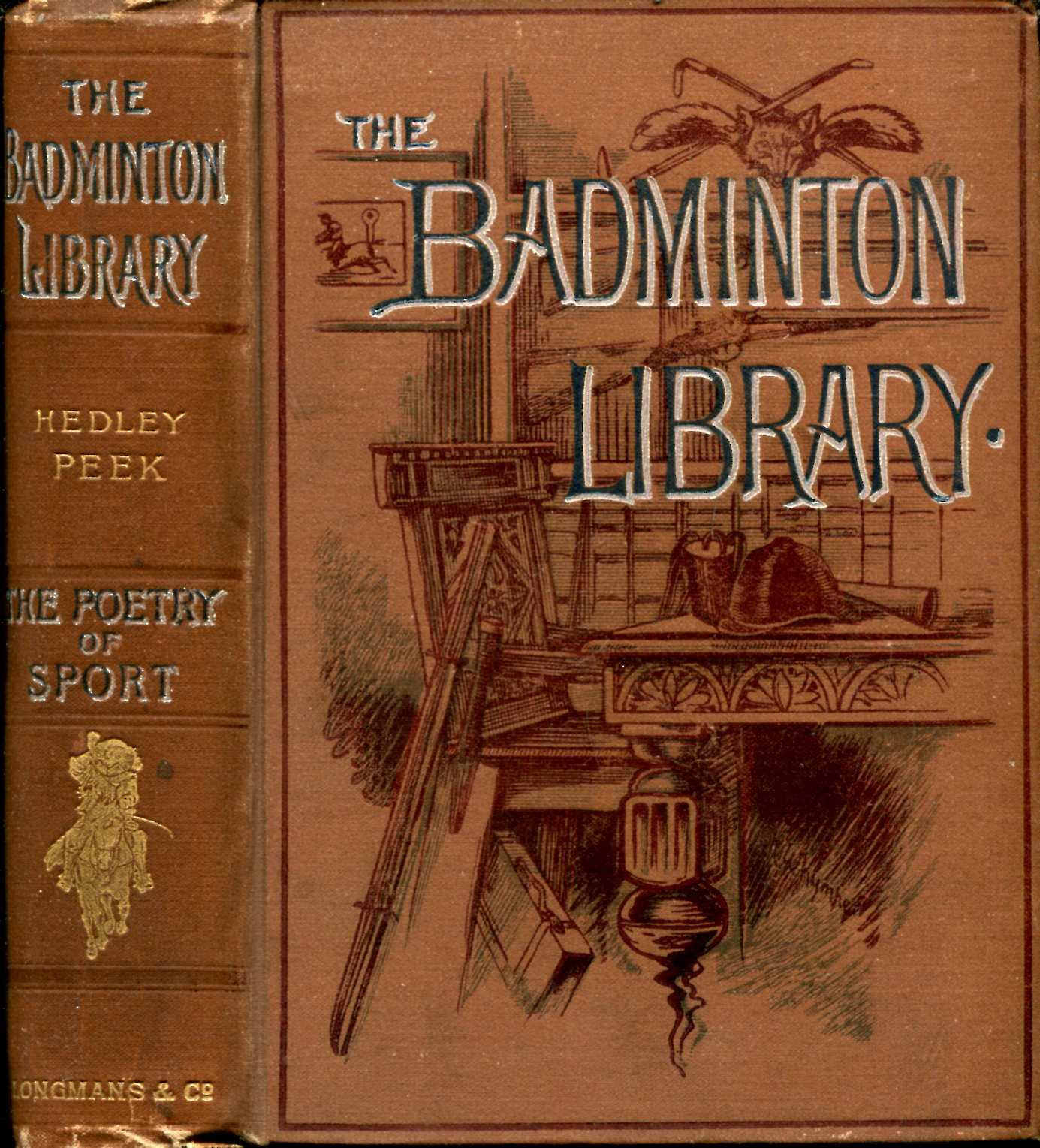Image for The Badminton Library : The Poetry of Sport