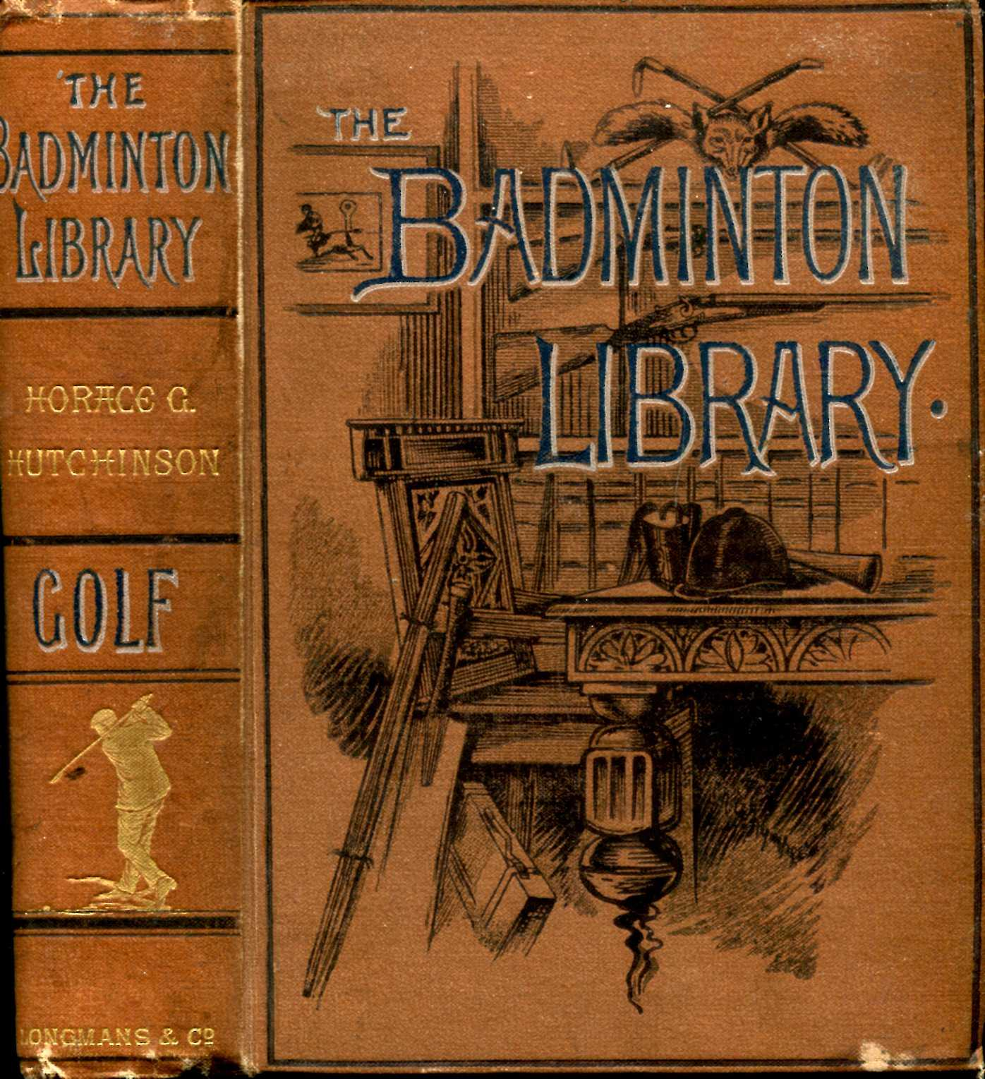 Image for The Badminton Library : Golf