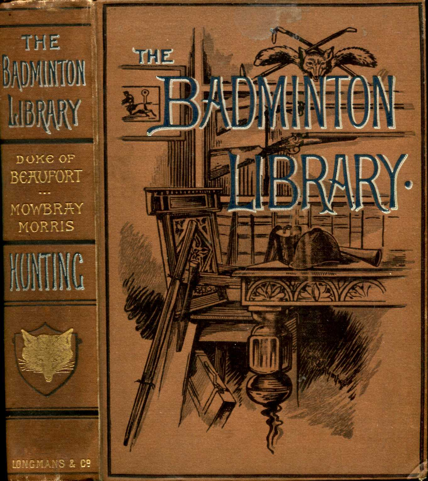 Image for The Badminton Library : Hunting