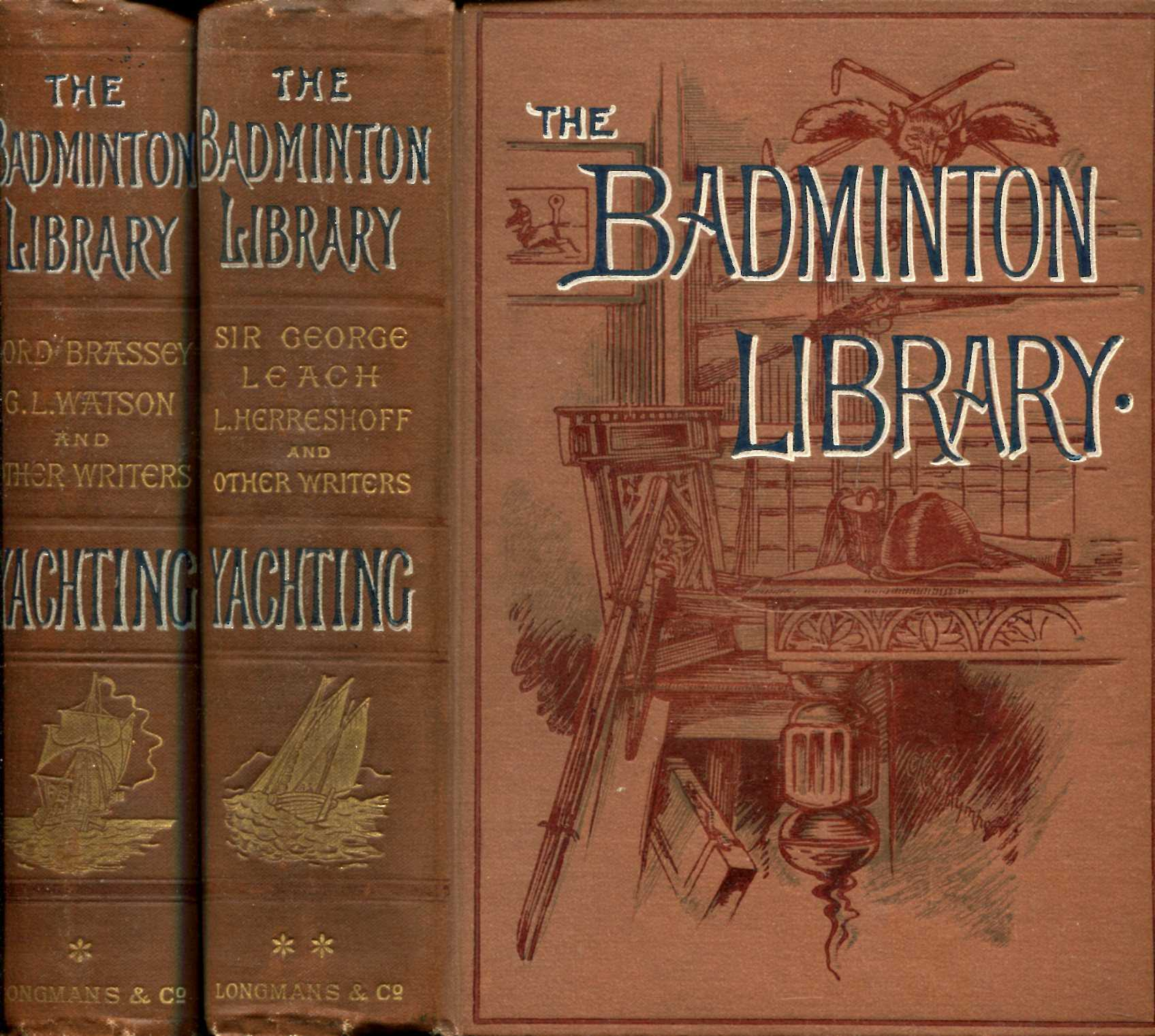 Image for The Badminton Library : Yachting (two volumes complete)