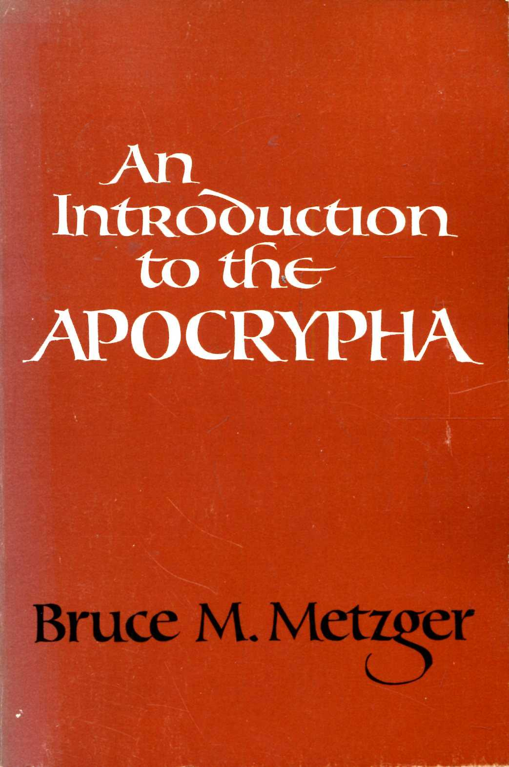 Image for An Introduction to the Apocrypha
