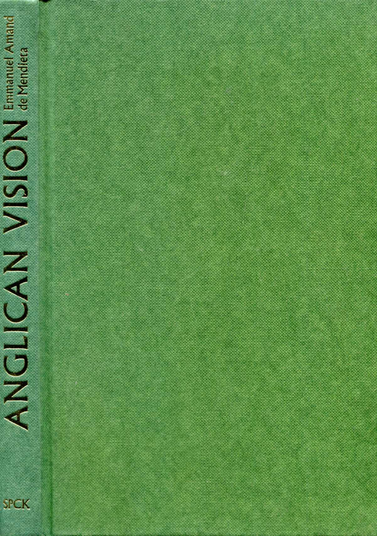 Image for Anglican Vision