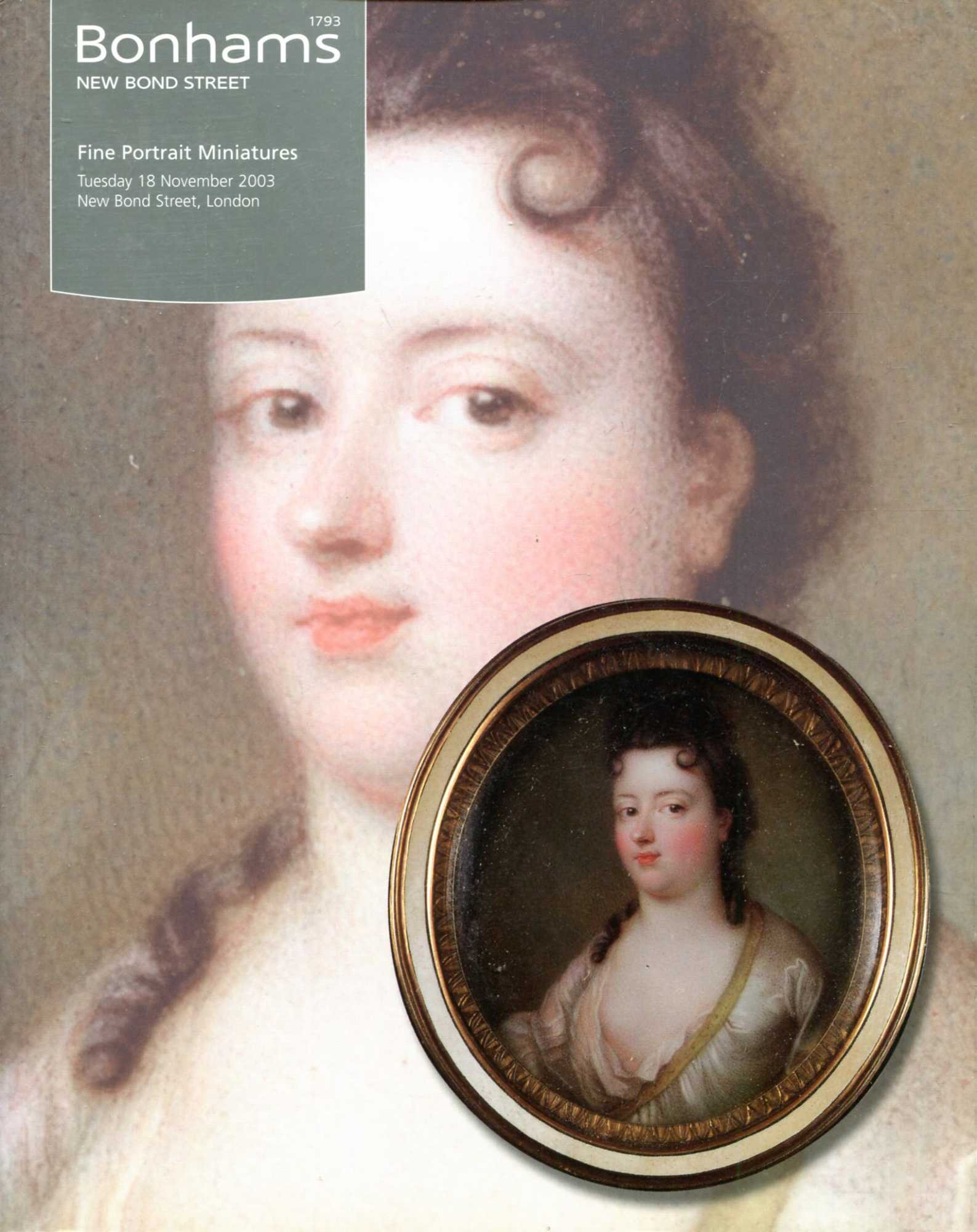 Image for Fine Portrait Miniatures 18 November 2003