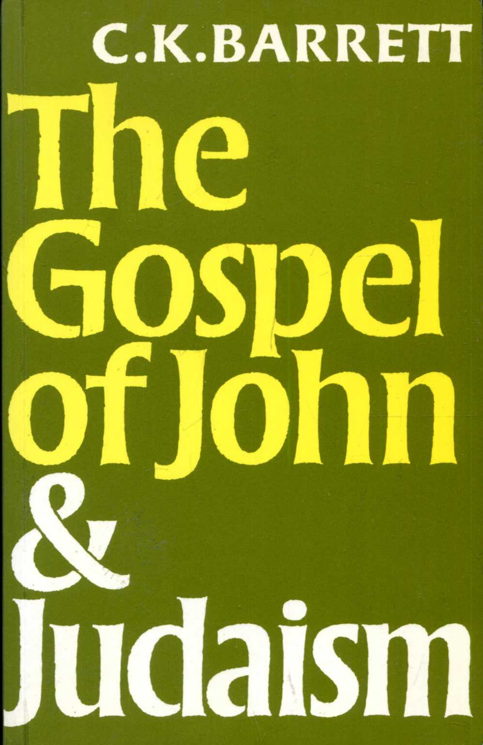 Image for The Gospel of John and Judaism