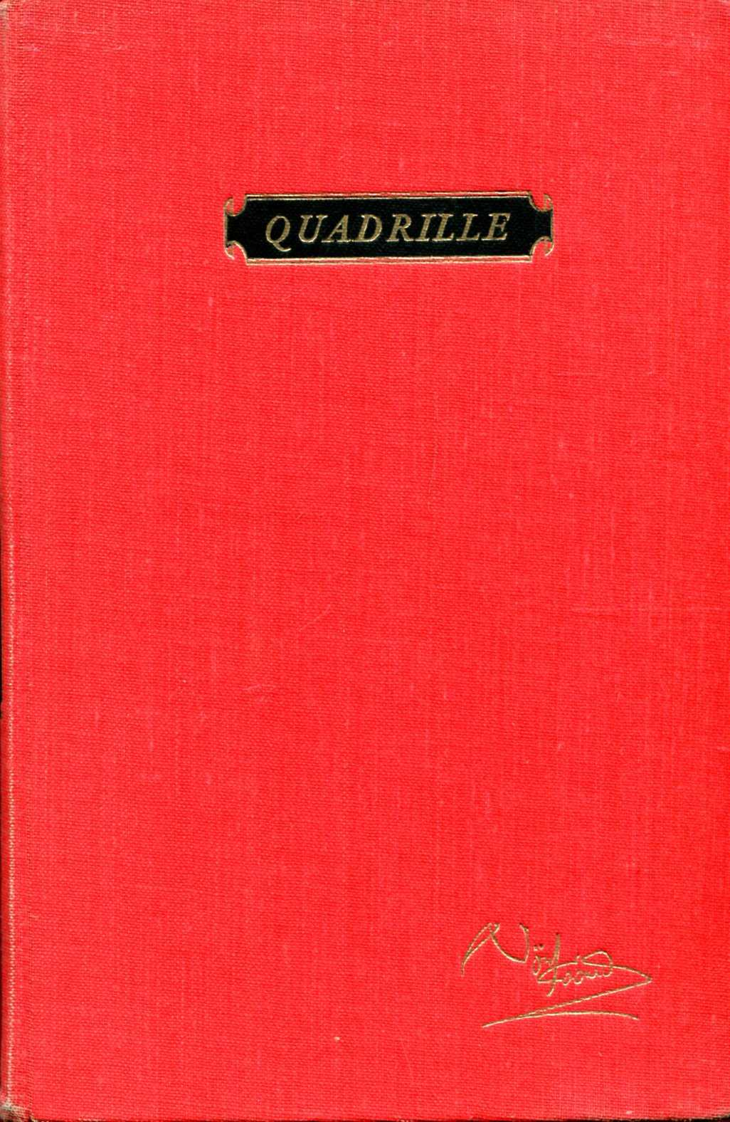 Image for Quadrille : a romantic comedy in three acts