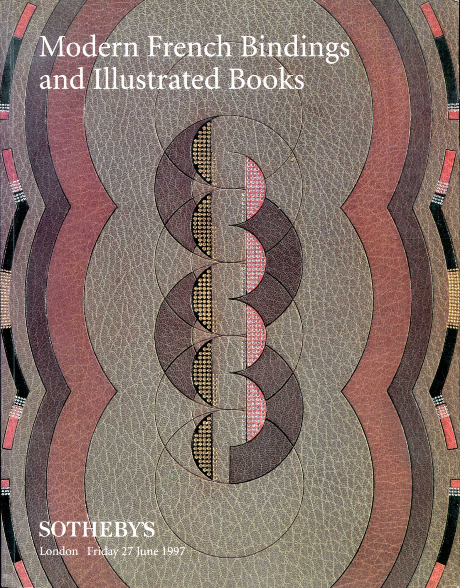Image for Modern French Bindings and Illustrated Books, 27 June, 1997