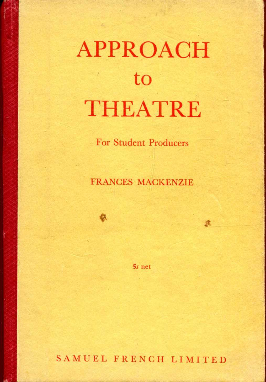 Image for Approach to Theatre for student producers