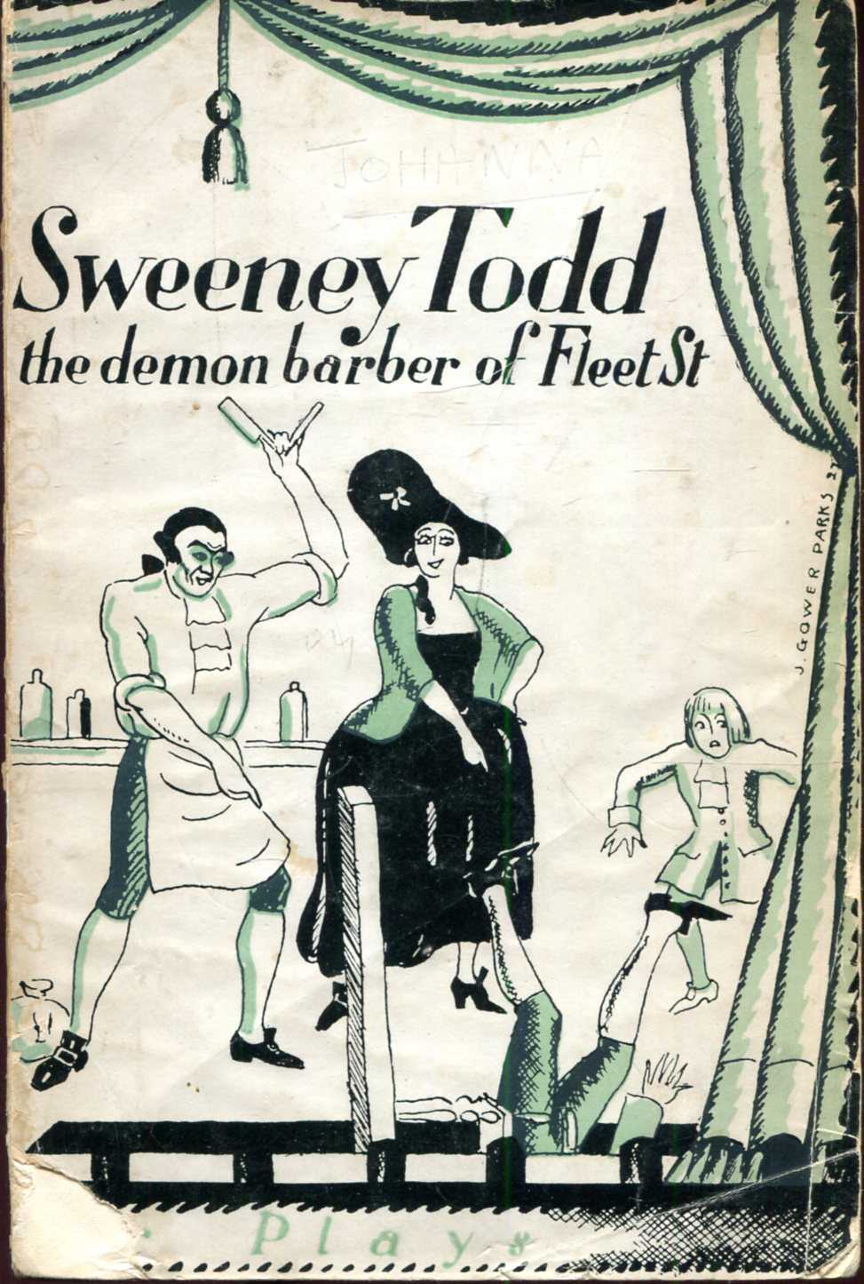 Image for Sweeney Todd, The Demon Barber of Fleet Street, a traditional acting version