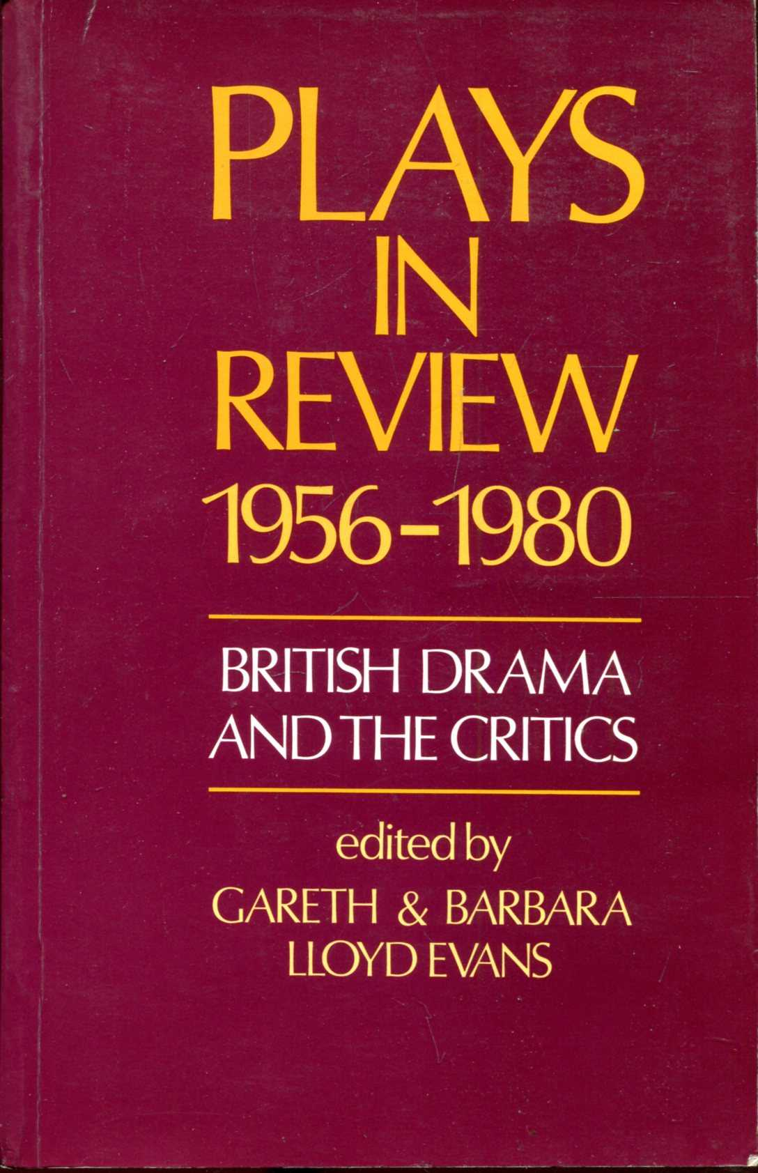 Image for Plays in Review, 1956-80