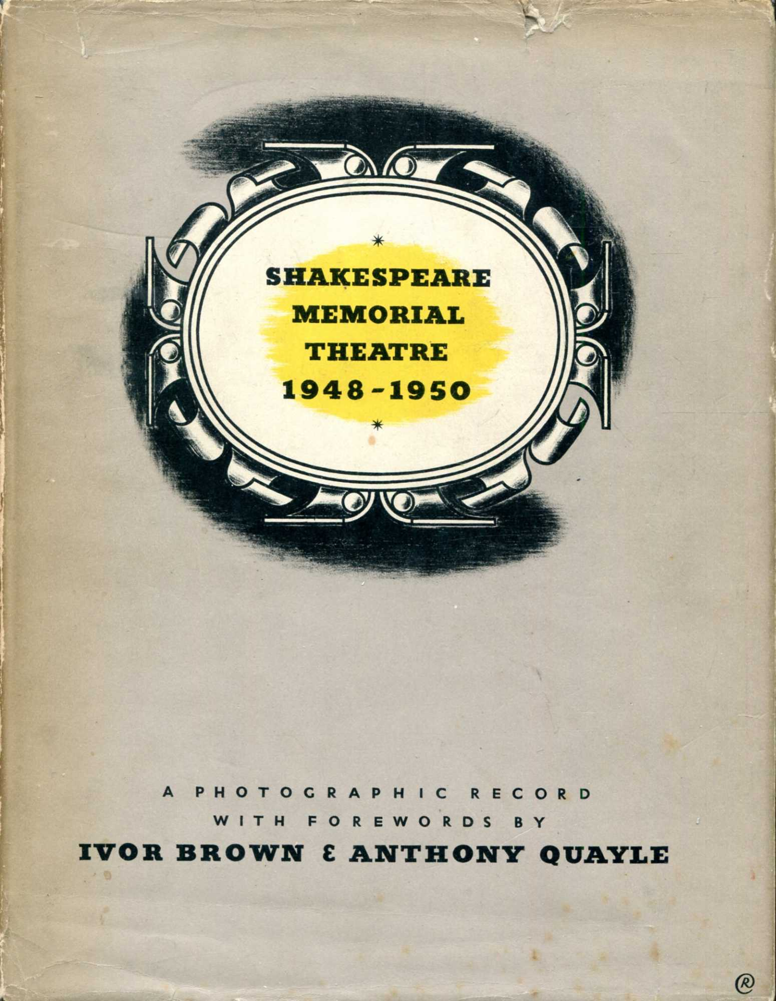 Image for Shakespeare Memorial Theatre 1948-1950, a photographic record