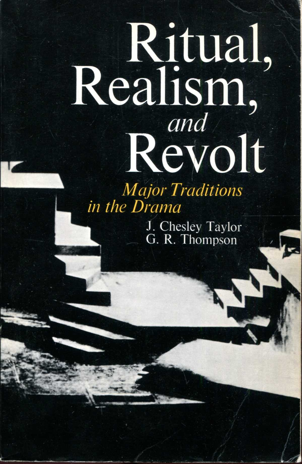 Image for Ritual, Realism and Revolt : Major Traditions in the Drama