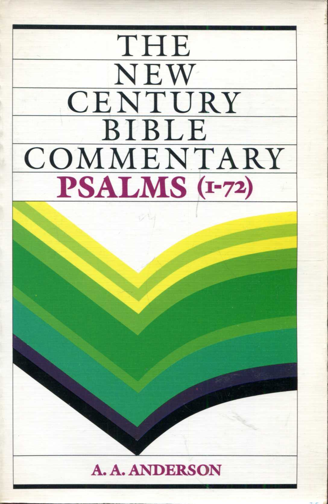 Image for New Century Bible Commentary, Psalms volume I : 1-72