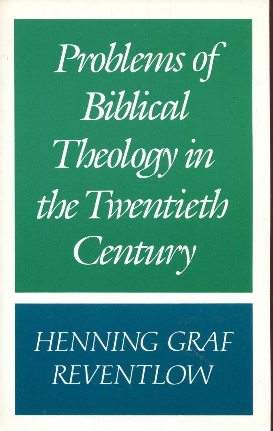 Image for Problems of Biblical Theology in the Twentieth Century
