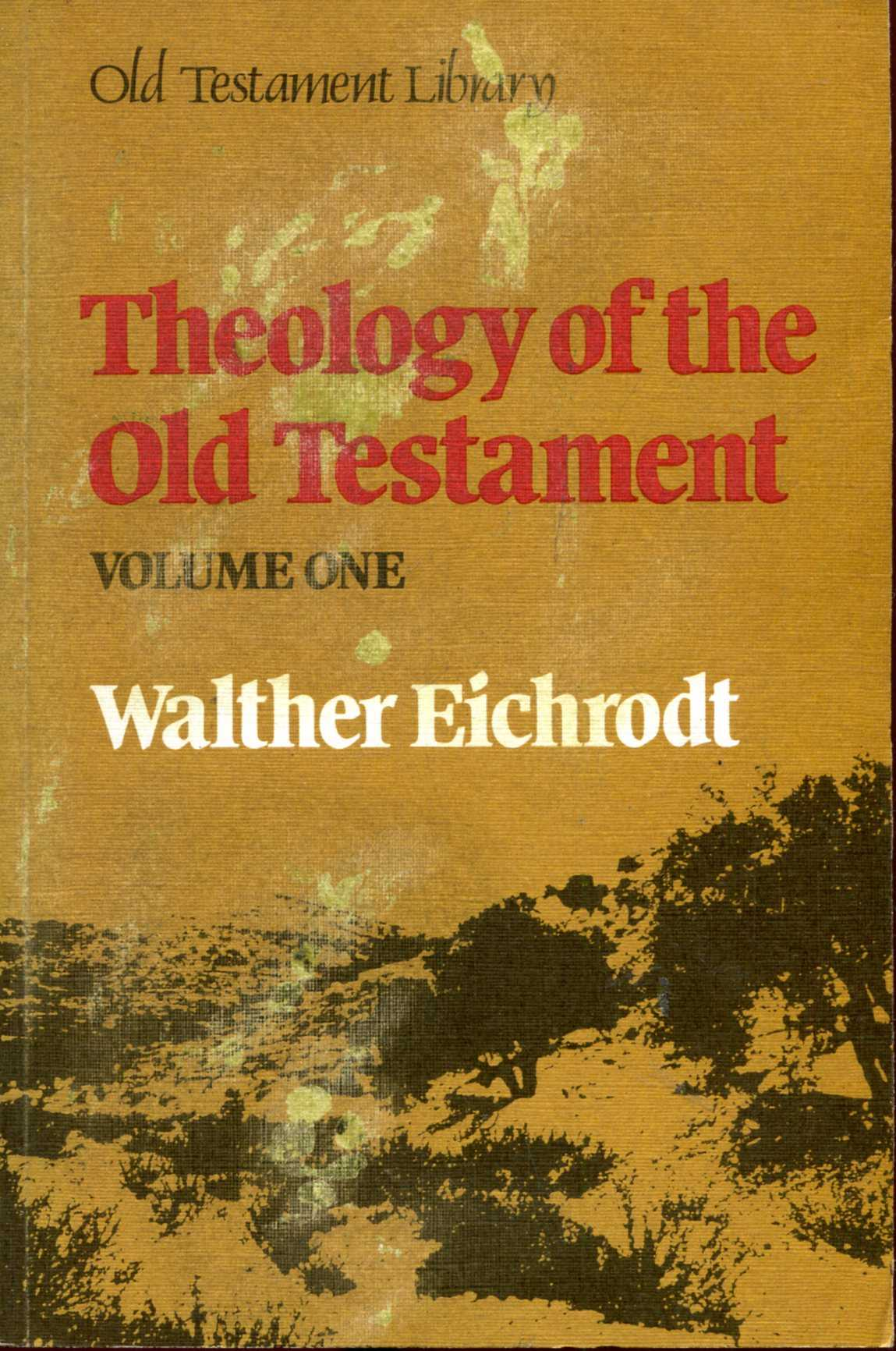 Image for Theology of the Old Testament: Volume 1