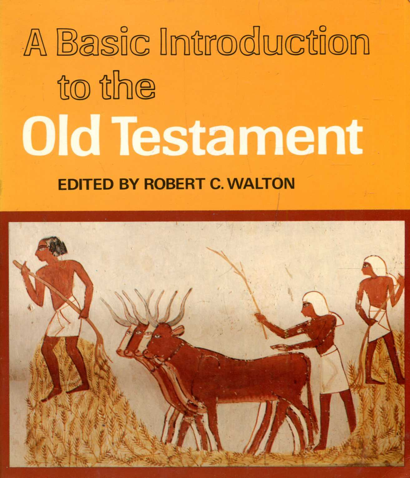 Image for A Basic Introduction to the Old Testament