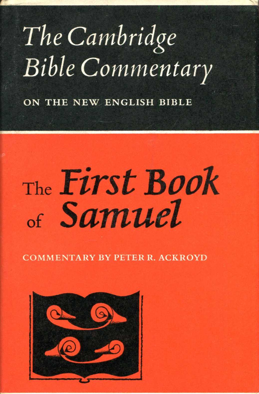Image for The First Book of Samuel (Cambridge Bible Commentaries on the New English Bible)