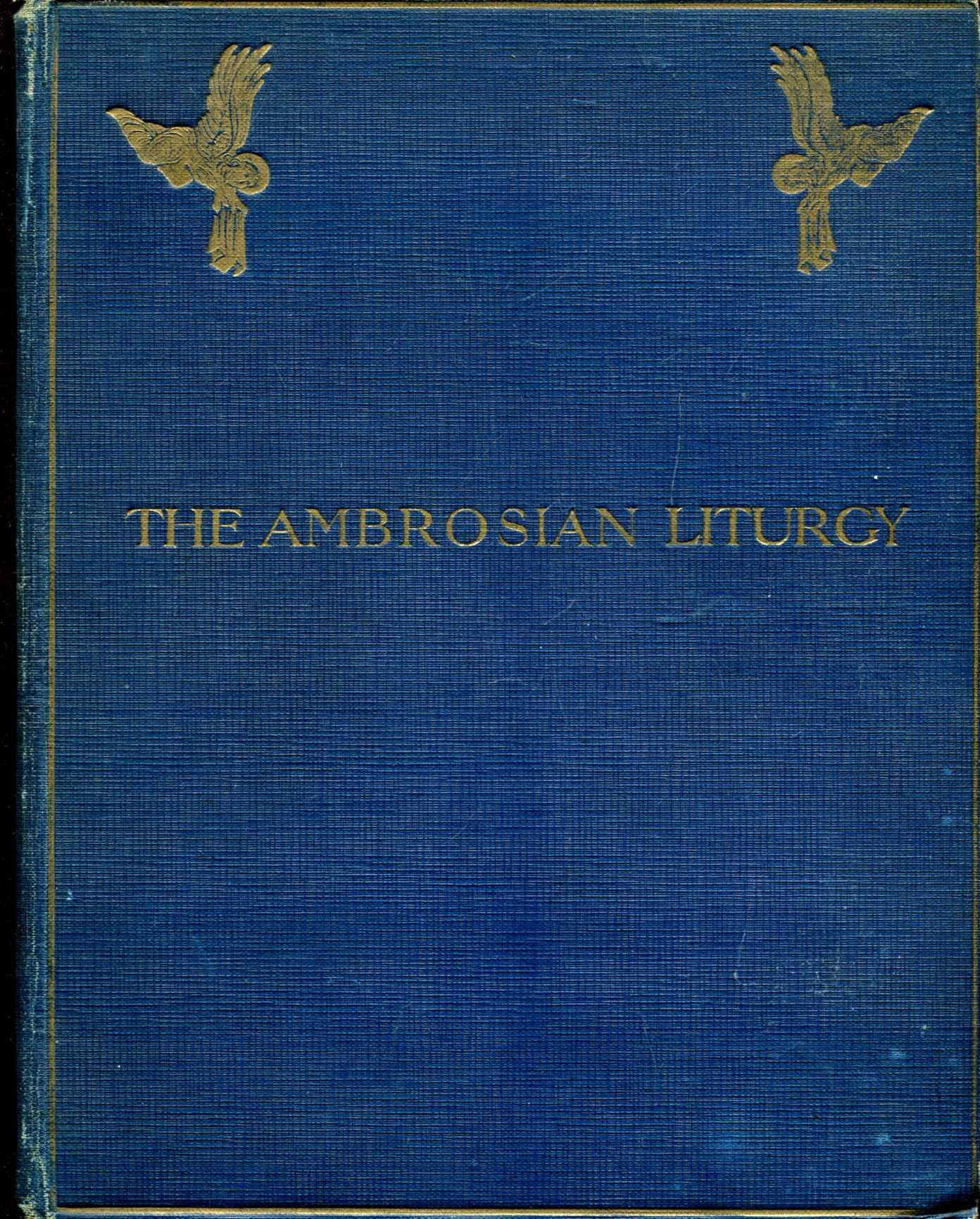 Image for The Ambrosian Liturgy : The Ordinary and Canon of the Mass according to the Rite of the Church of Milan