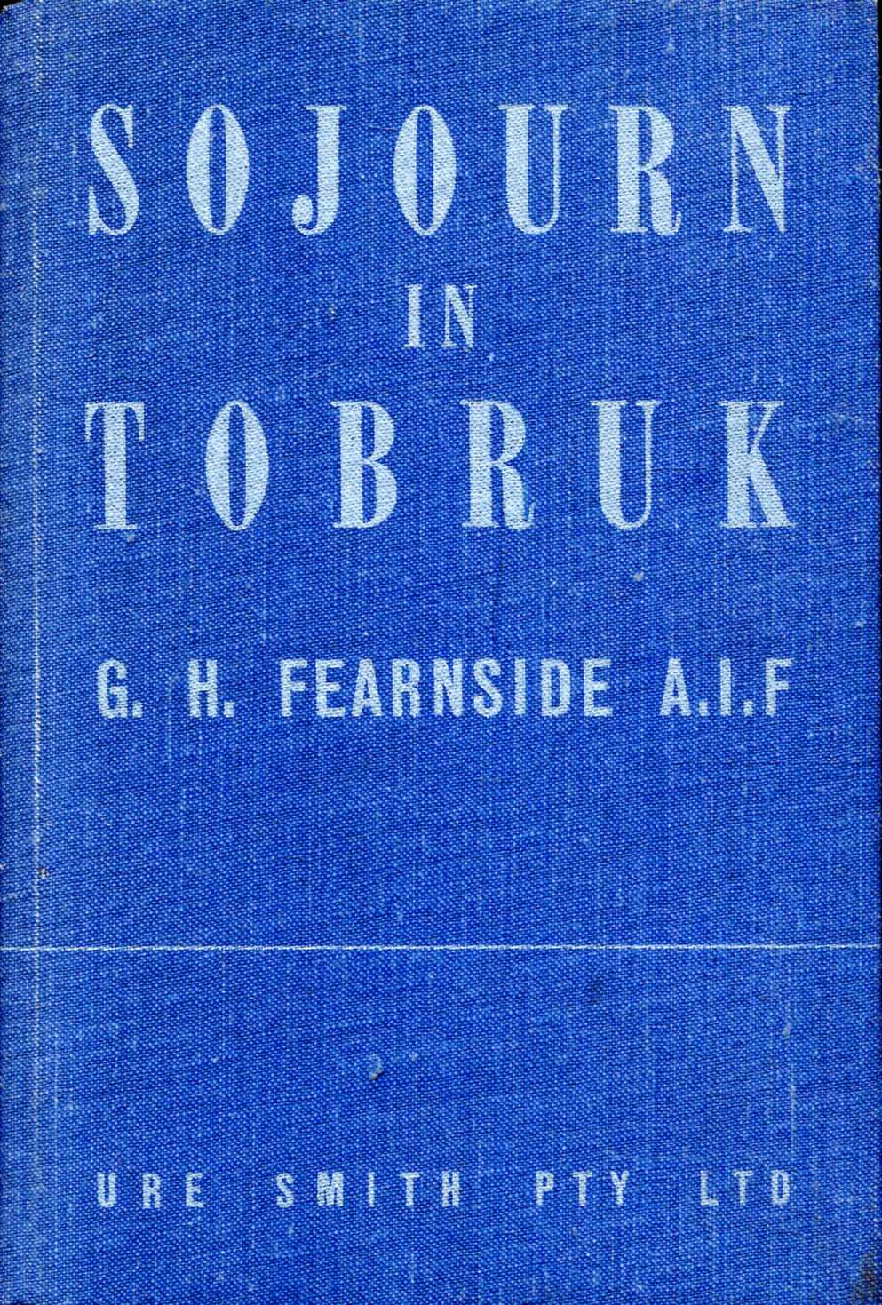 Image for Sojourn in Tobruk