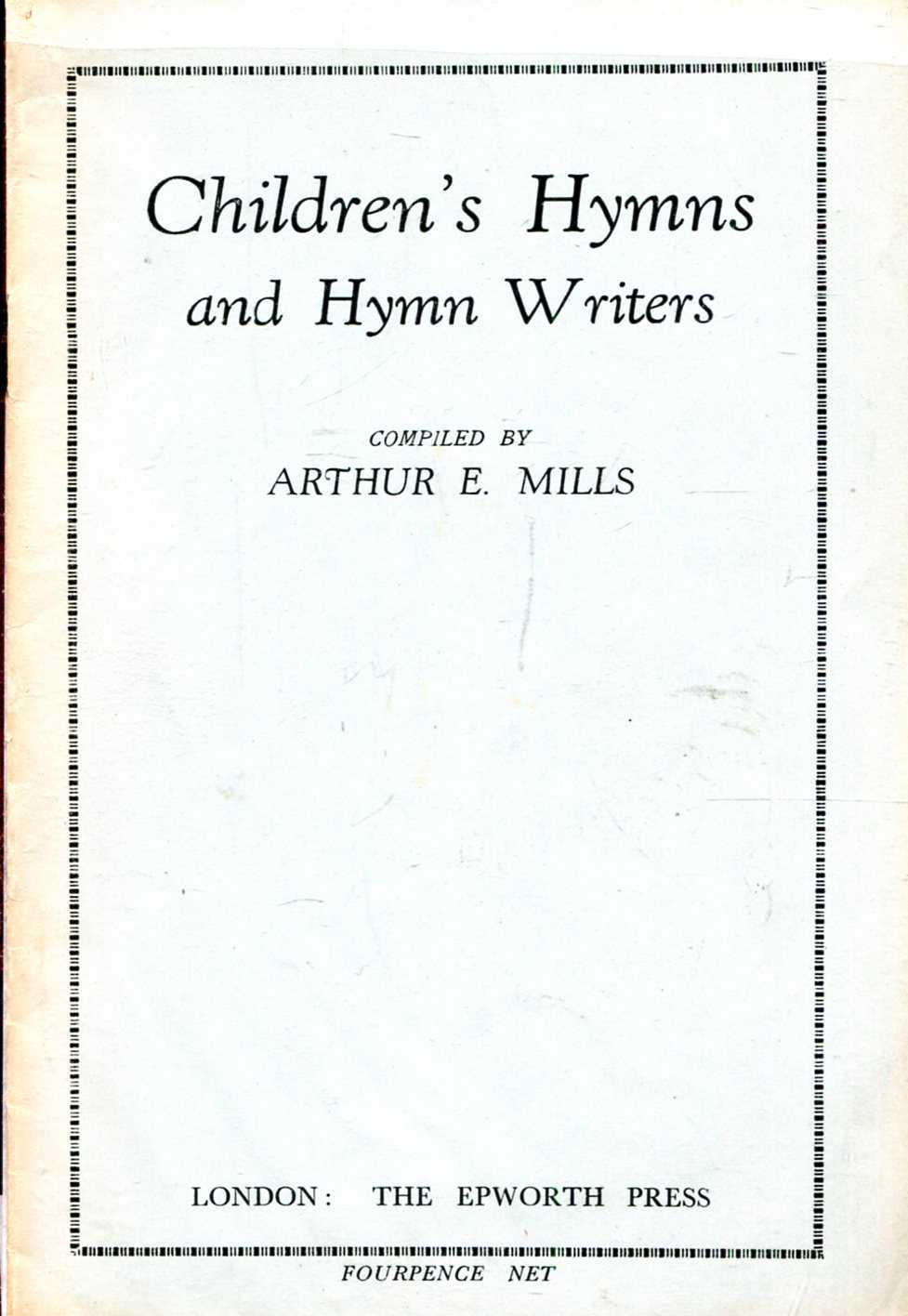 Image for Children's Hymns and Hymn Writers