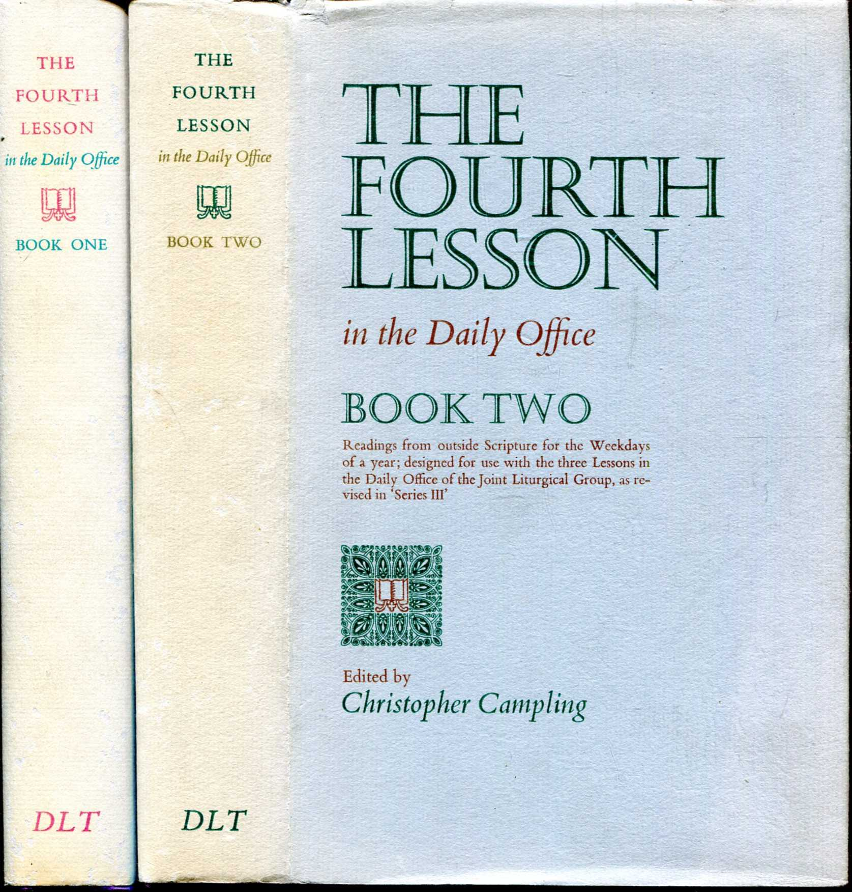 Image for The Fourth Lesson in the Daily Office (Books One and Two, complete)