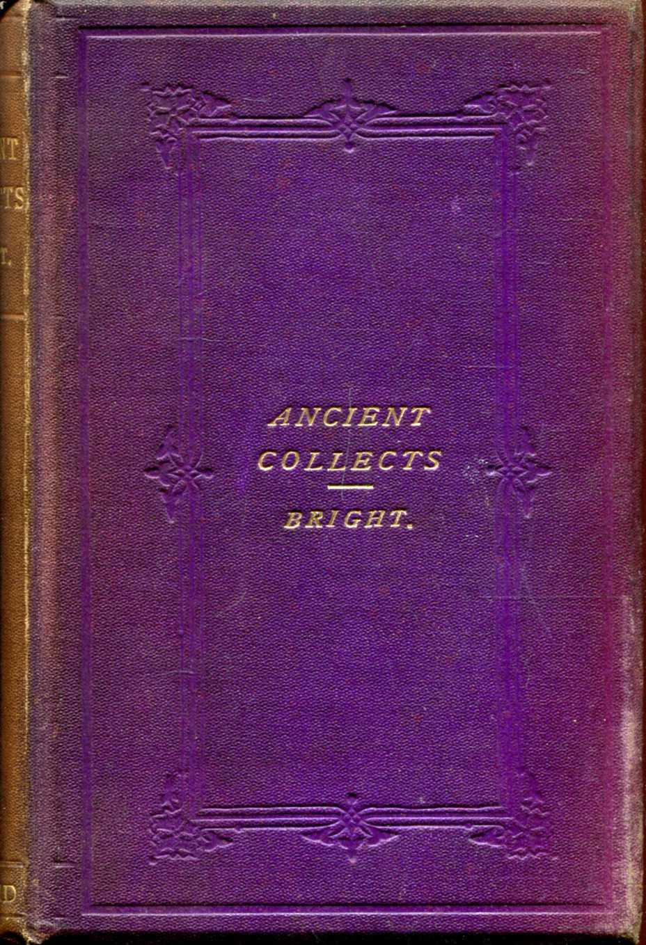 Image for Ancient Collects and Other Prayers selected for devotional use from various rituals