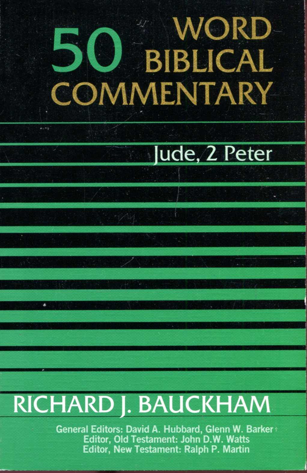 Image for Word Biblical Commentary volume 50 : Jude, 2 Peter