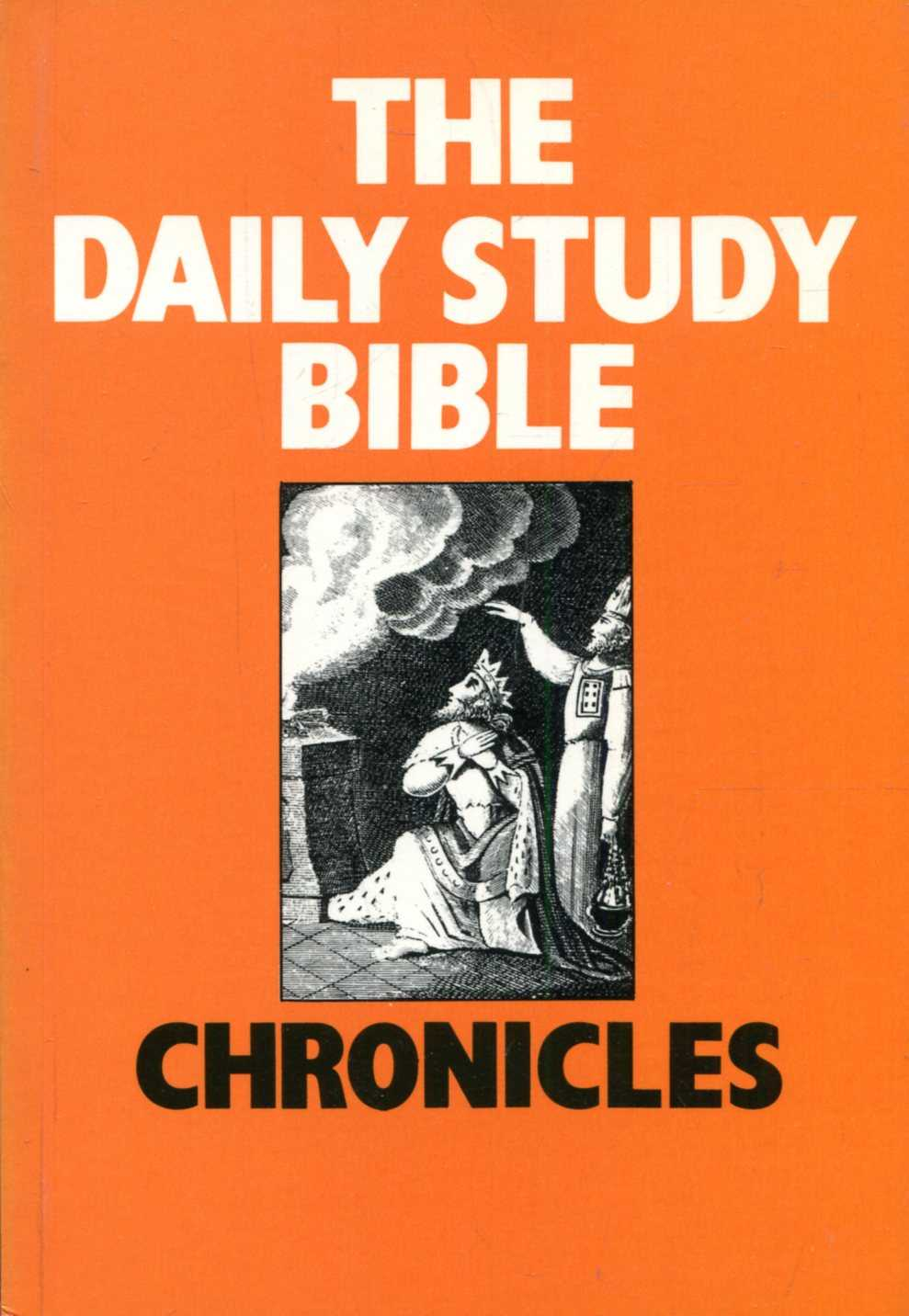 Image for The Daily Study Bible : Chronicles