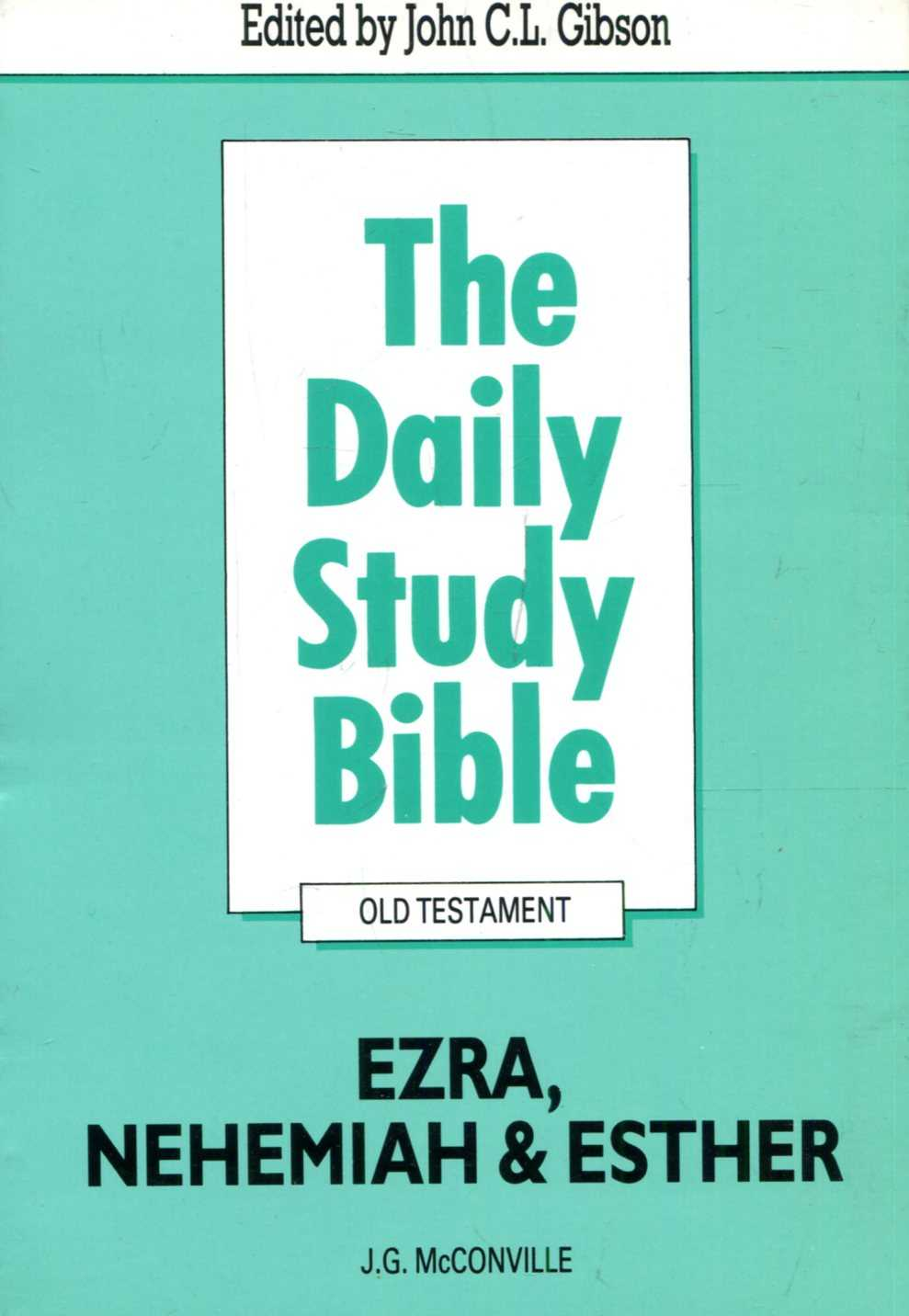Image for Ezra, Nehemiah and Esther (Daily Study Bible)