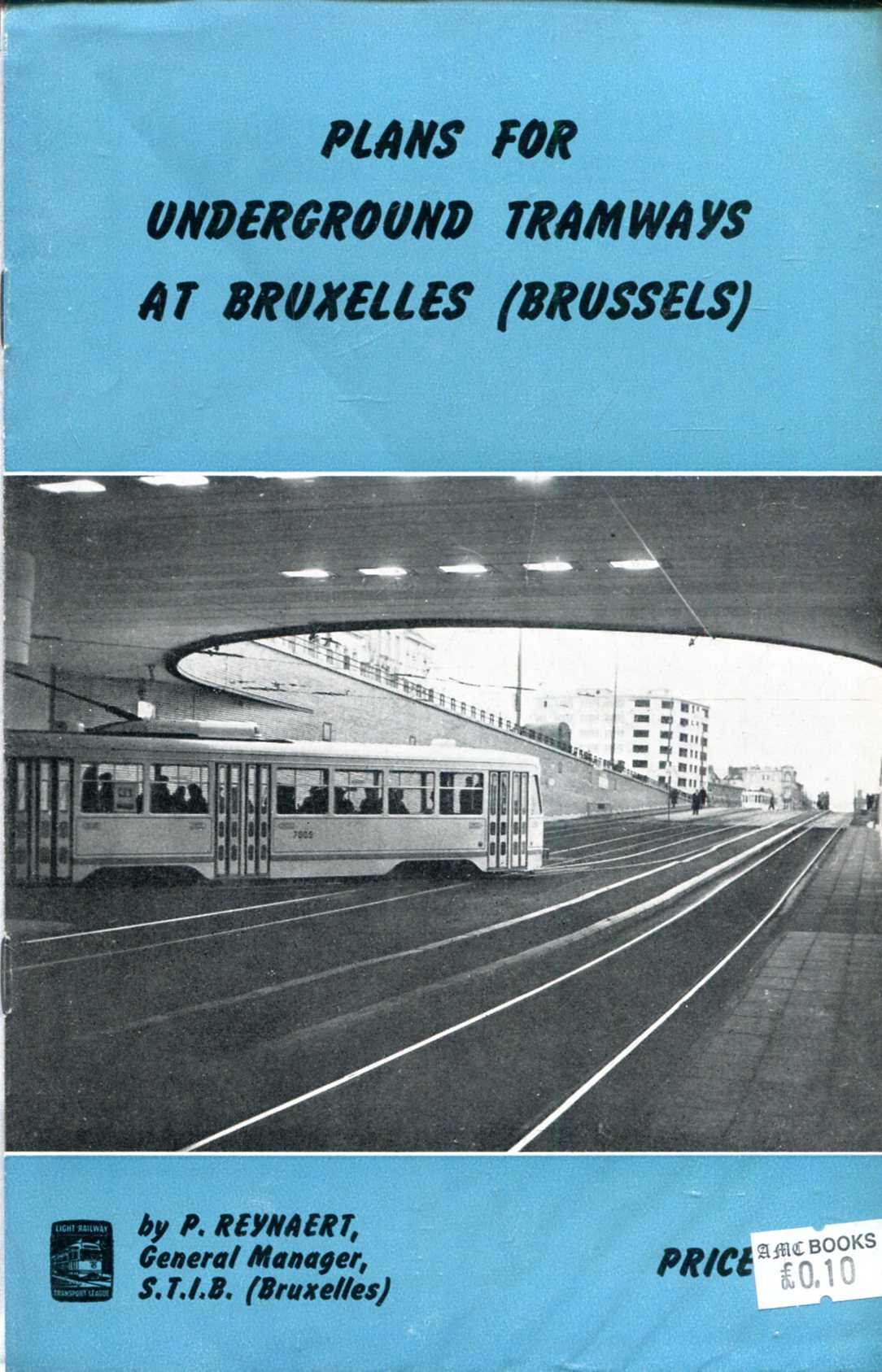 Image for Plans for Underground Tramways at Bruxelles (Brussels)