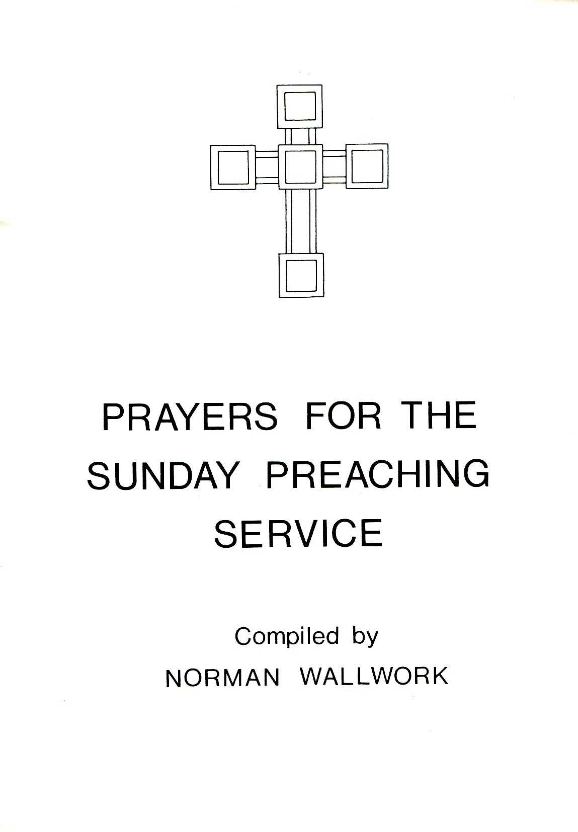 Image for Prayers for the Sunday Preaching Service
