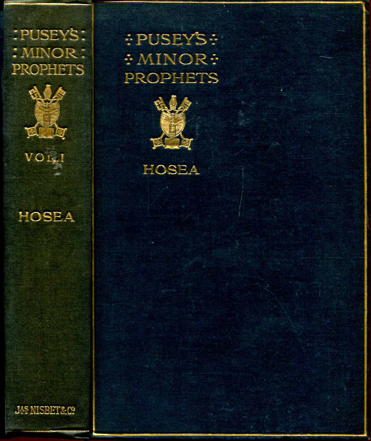 Image for The Minor Prophets with a Commentary, explanatory and practical, and Introductions to the several books (eight volumes complete)